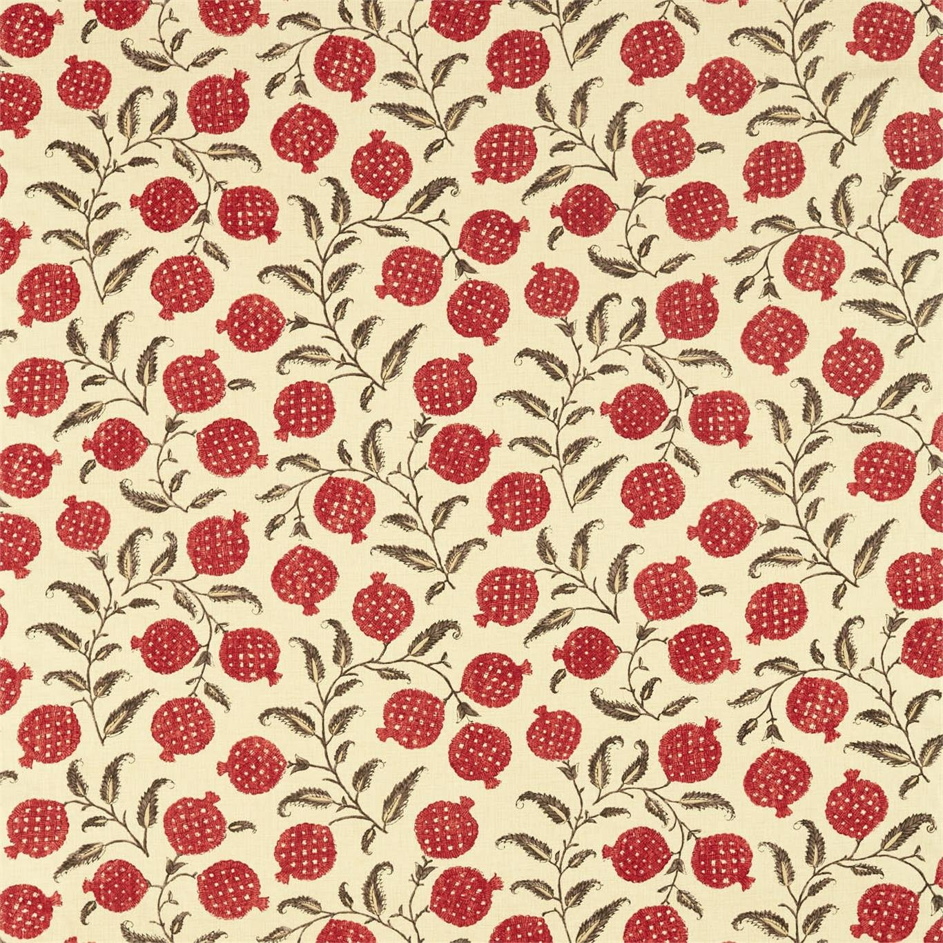 Image of Sanderson Anaar Madder Fabric 226627