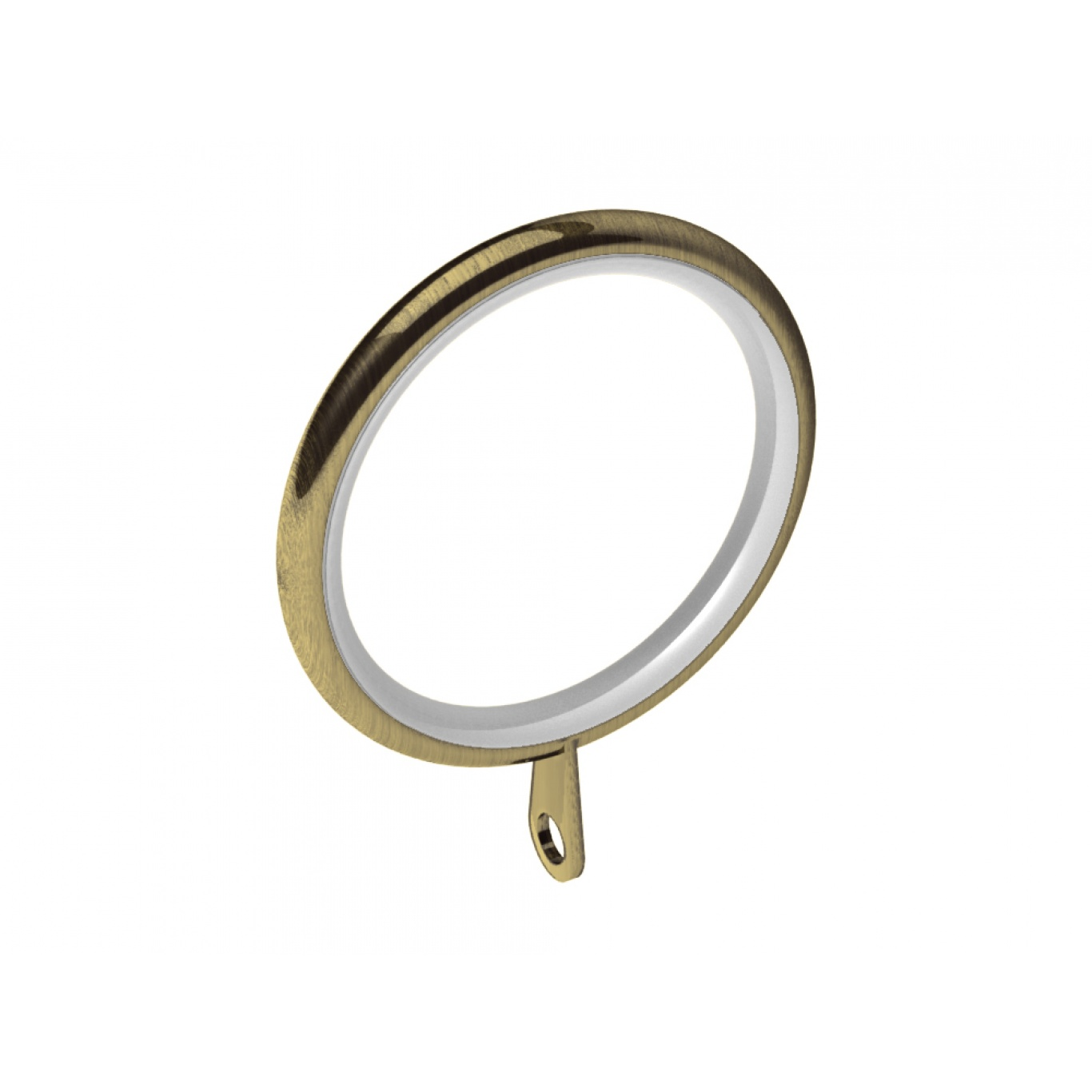 Image of Swish Elements 28mm Antique Brass Rings Pack of 4