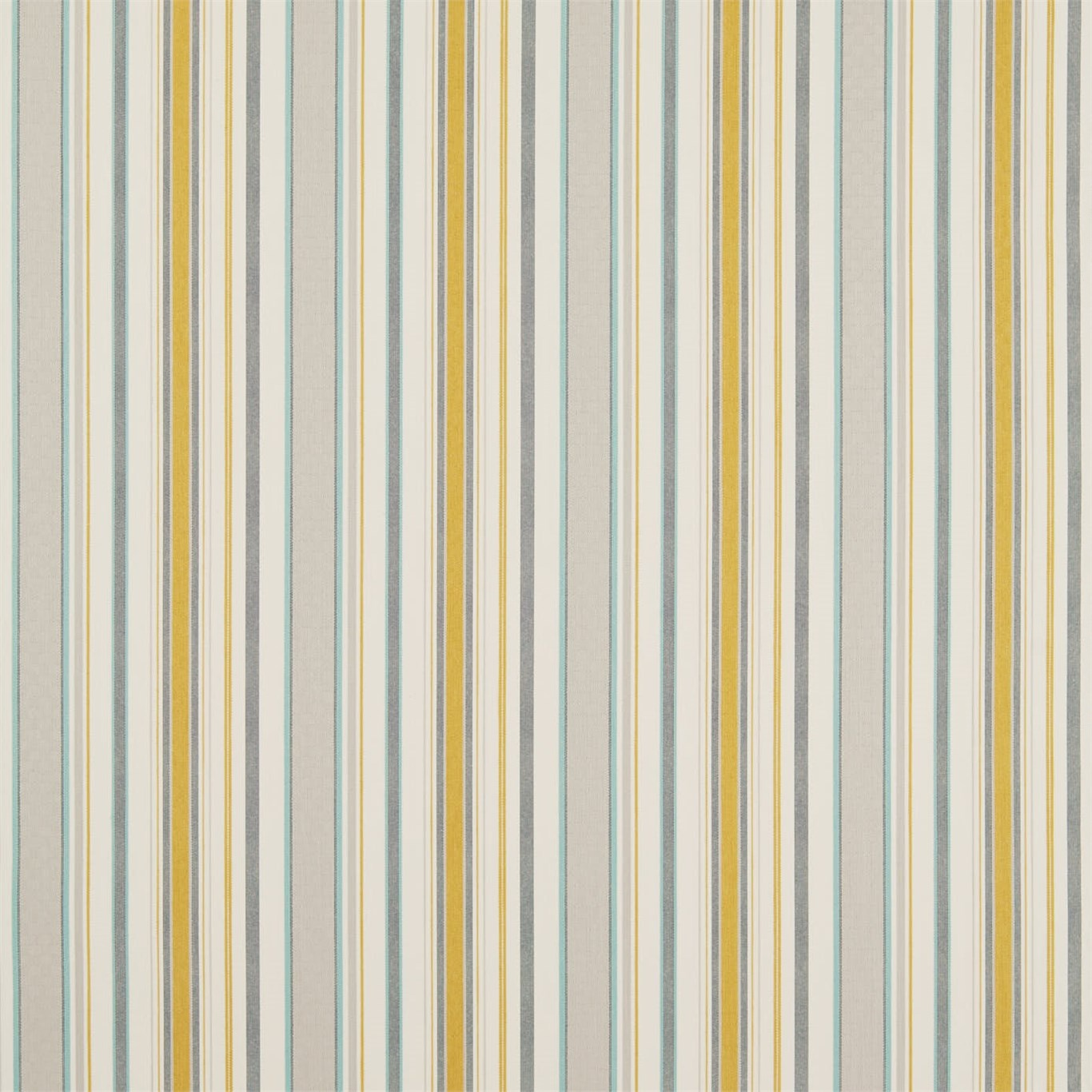 Image of Sanderson Home Dobby Stripe Dijon Curtain Fabric 235895