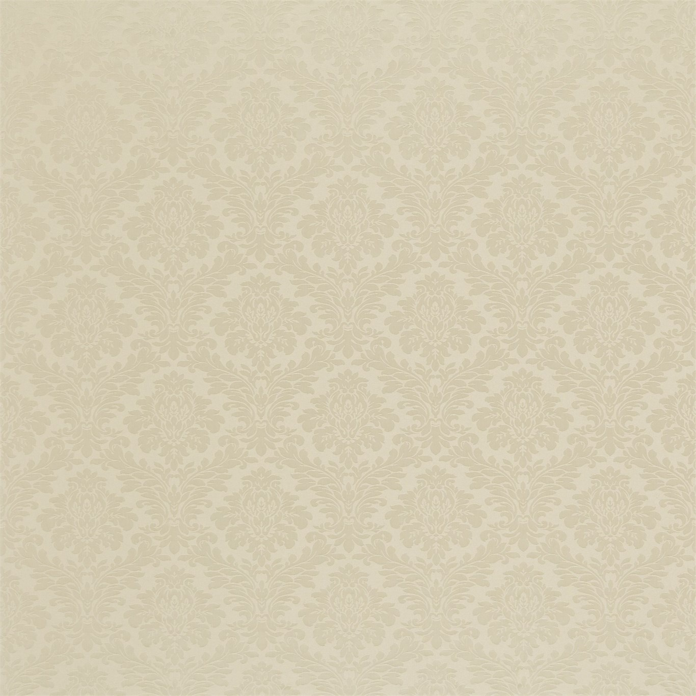 Image of Sanderson Lymington Damask Pale Linen Fabric 232609