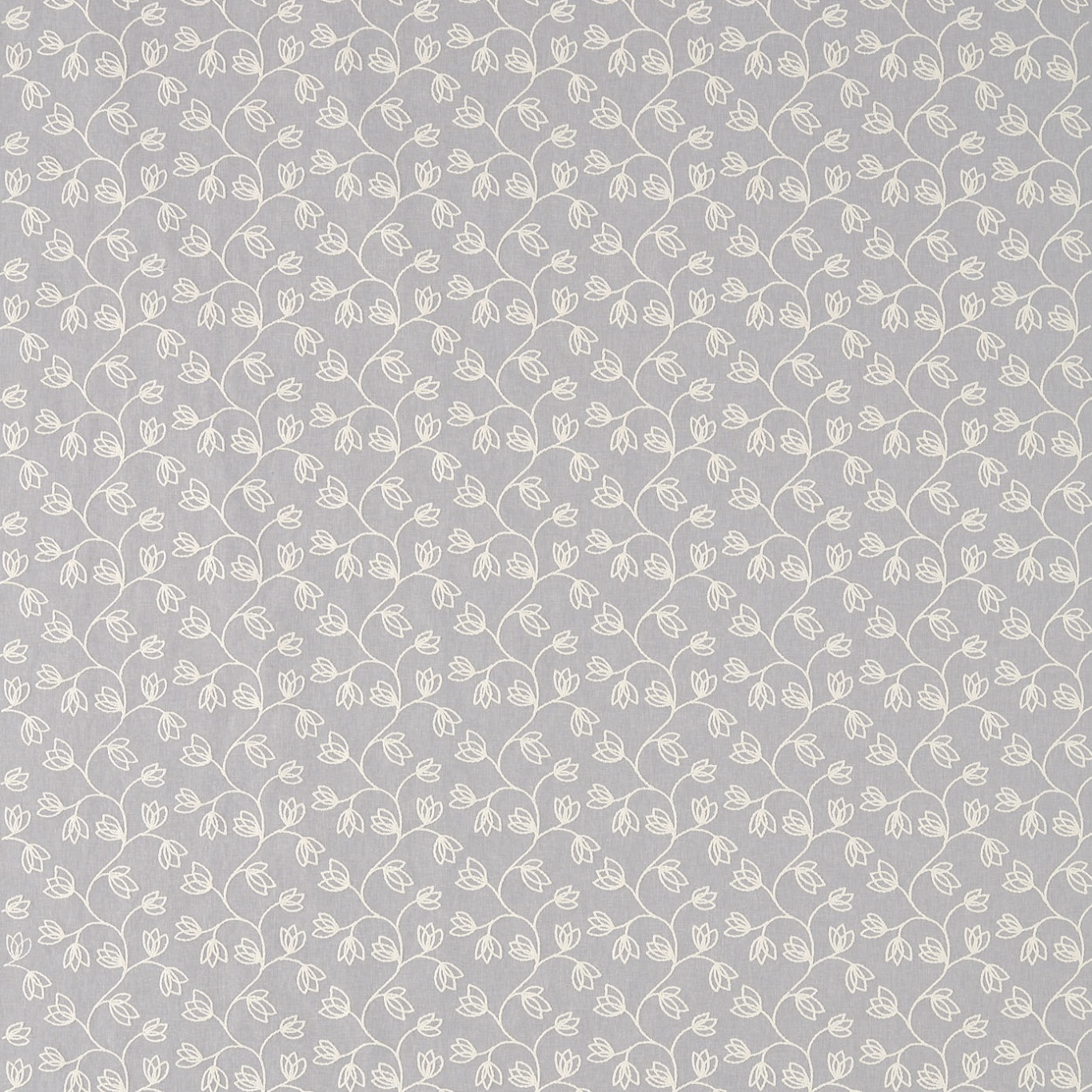 Image of Sanderson Ingleton Trail Silver Fabric 236276