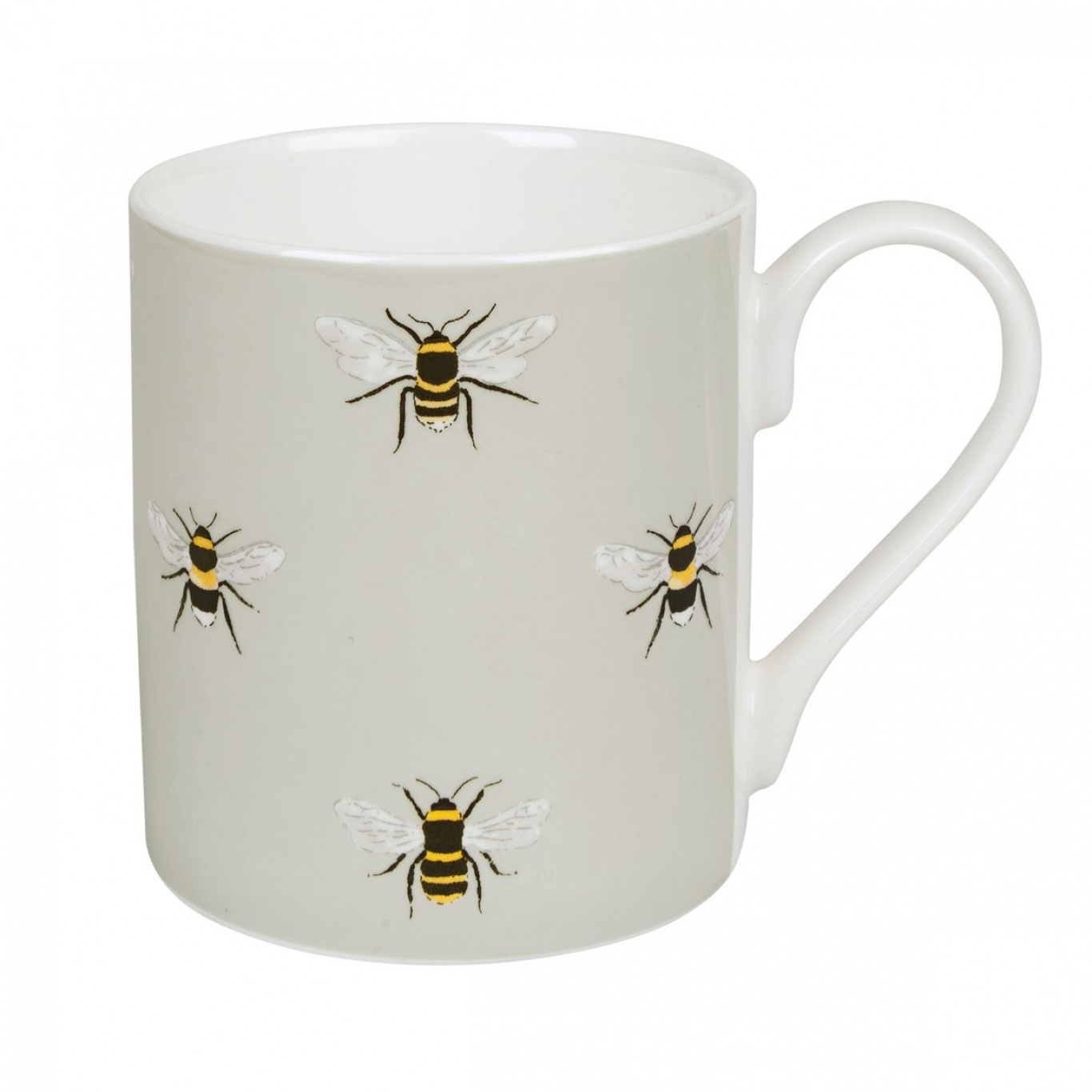 Image of Sophie Allport Bees Coloured Mug Standard