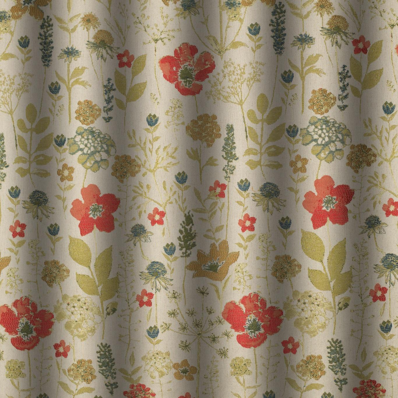 Gordon Smith (Malvern) Ltd. - Chess Designs Meadow Poppy Curtain ...