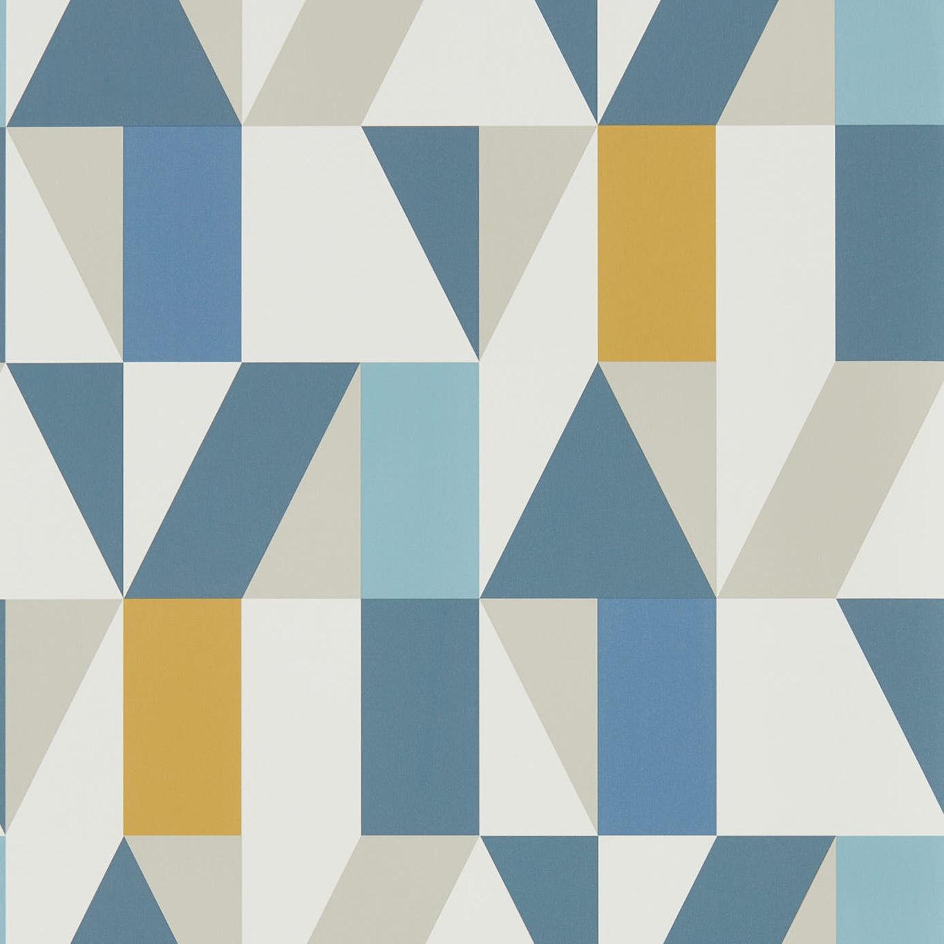 Image of Scion Nuevo Indigo/Slate/Satsuma Wallpaper 111831