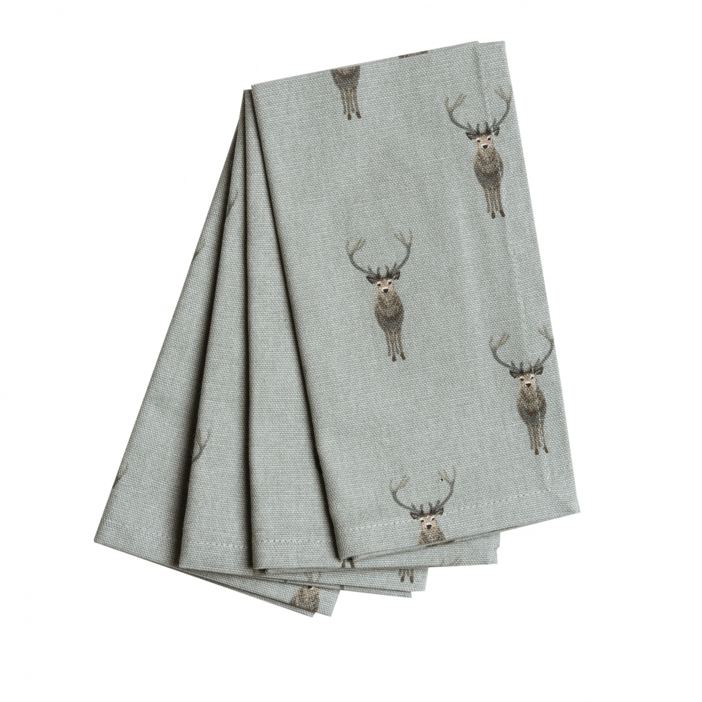 Image of Sophie Allport Highland Stag Napkins Set of 4
