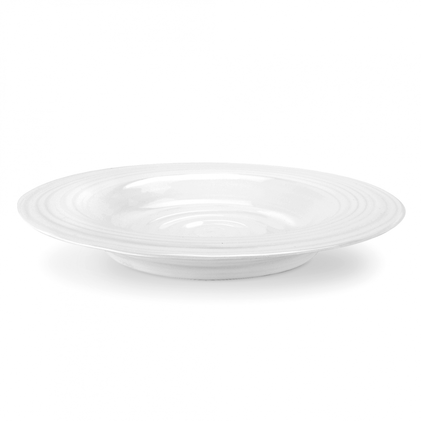 Image of Sophie Conran White Rimmed Soup Plate 25cm