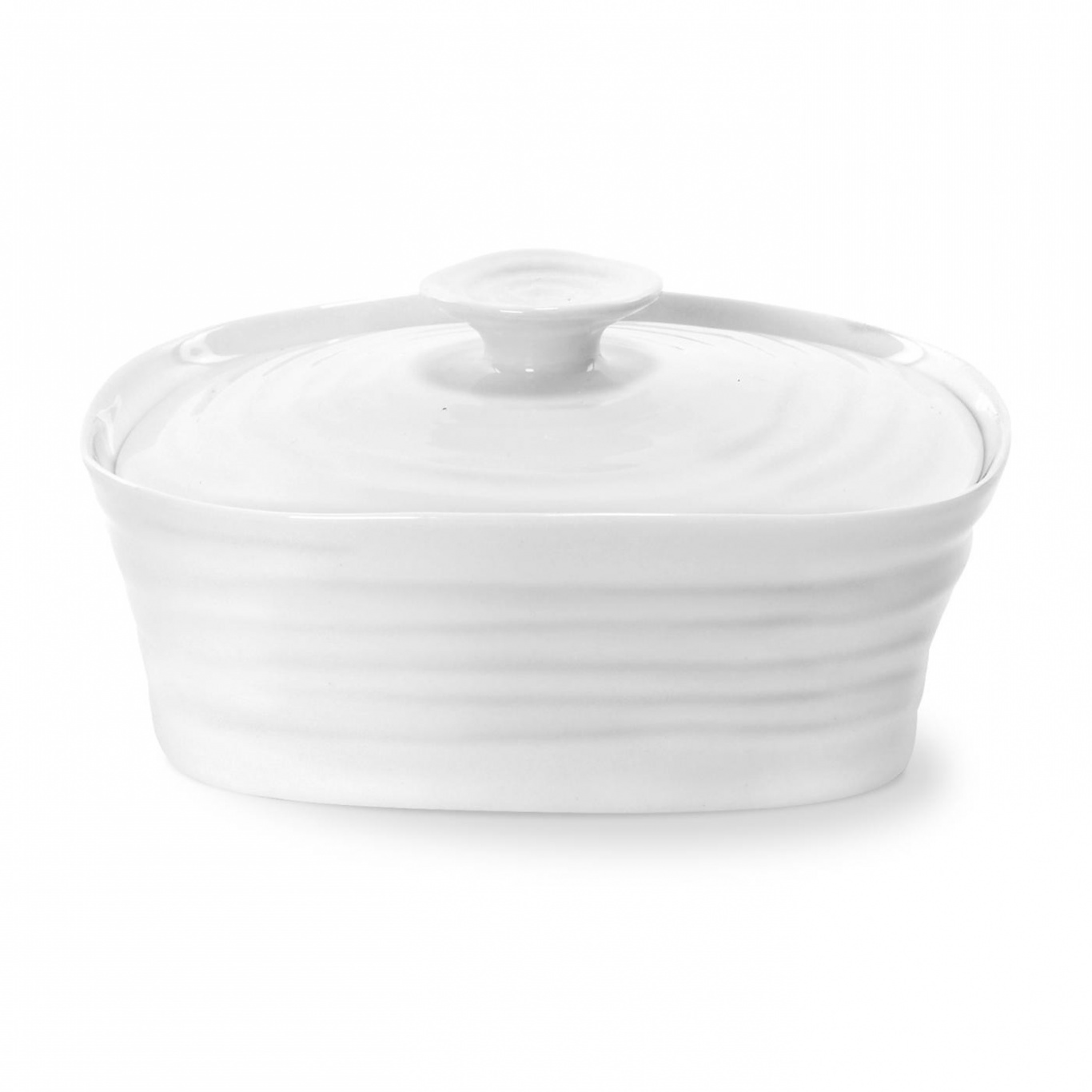 Image of Sophie Conran White Covered Butter Dish