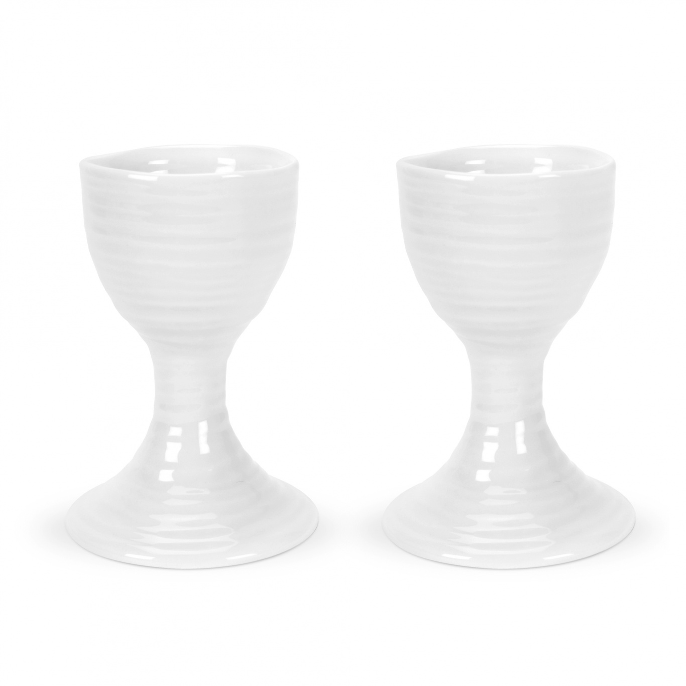 Image of Sophie Conran White Egg Cups 9cm Set of 2