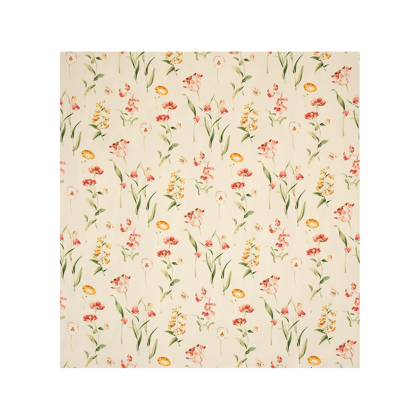Image of Sanderson Butterfly Garden Curtain Fabric PR8626/4