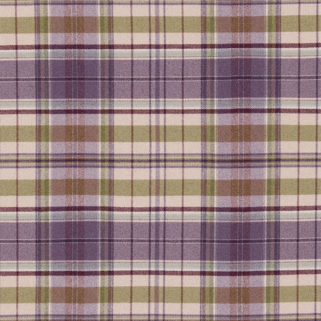 Image of Sanderson Byron Mulberry/Sage Fabric 233239