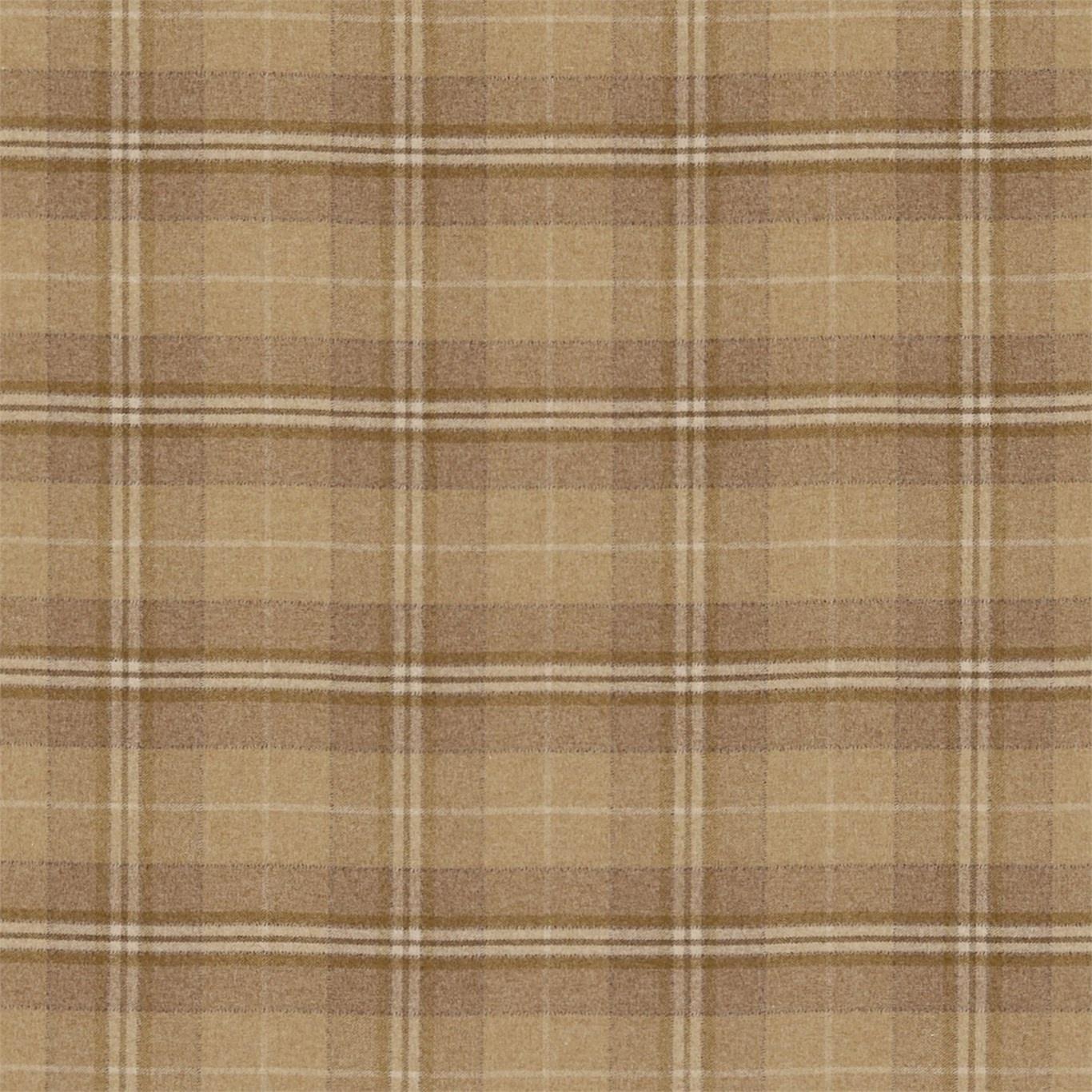 Image of Sanderson Milton Caramel Fabric 233251