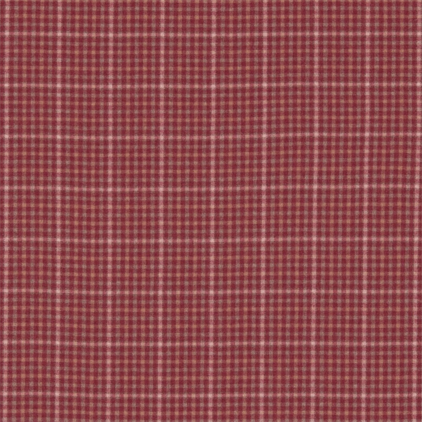 Image of Sanderson Langtry Cherry/Biscuit Fabric 233262