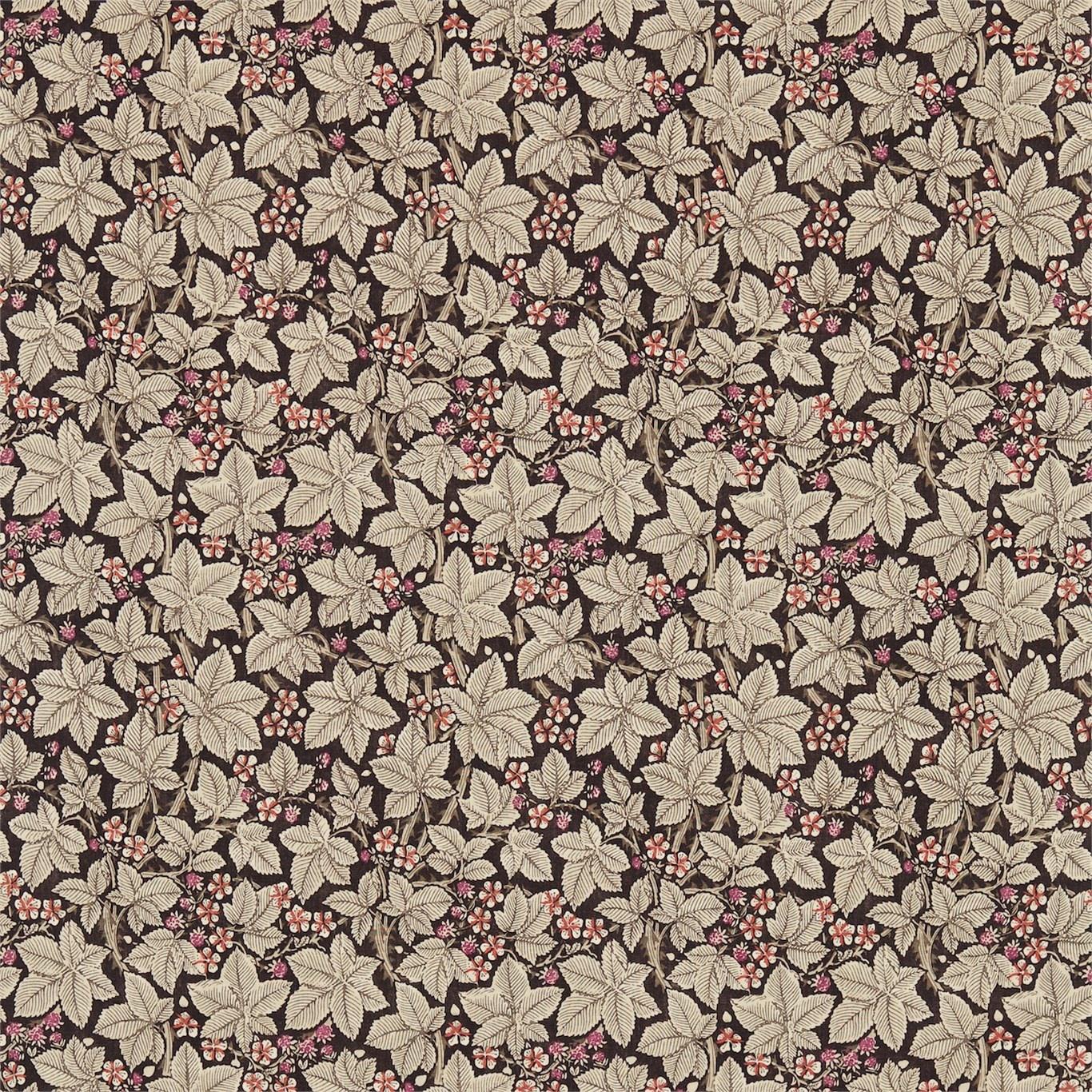 Image of Morris & Co Bramble Bullrush Curtain Fabric 224464