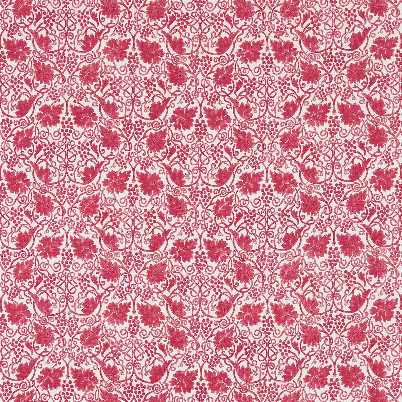 Image of Morris & Co Grapevine Rose Curtain Fabric 224477