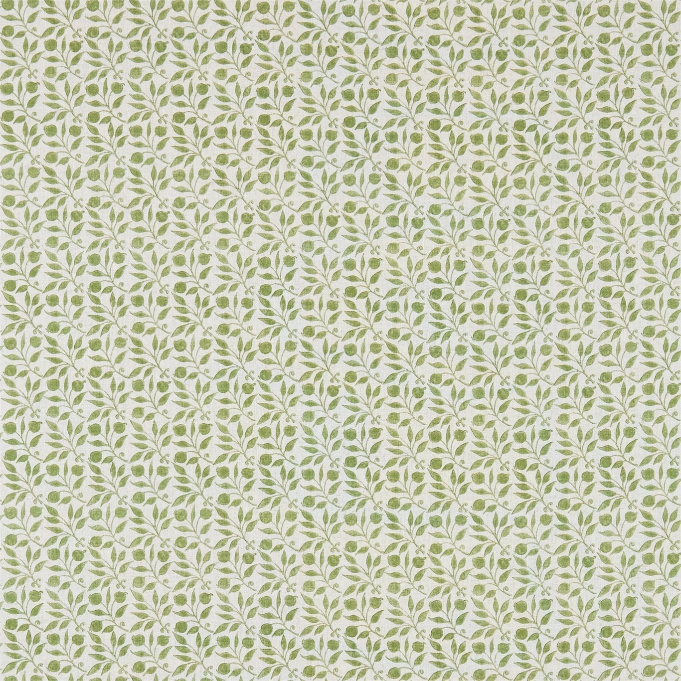 Image of Morris & Co Rosehip Thyme Curtain Fabric 224484