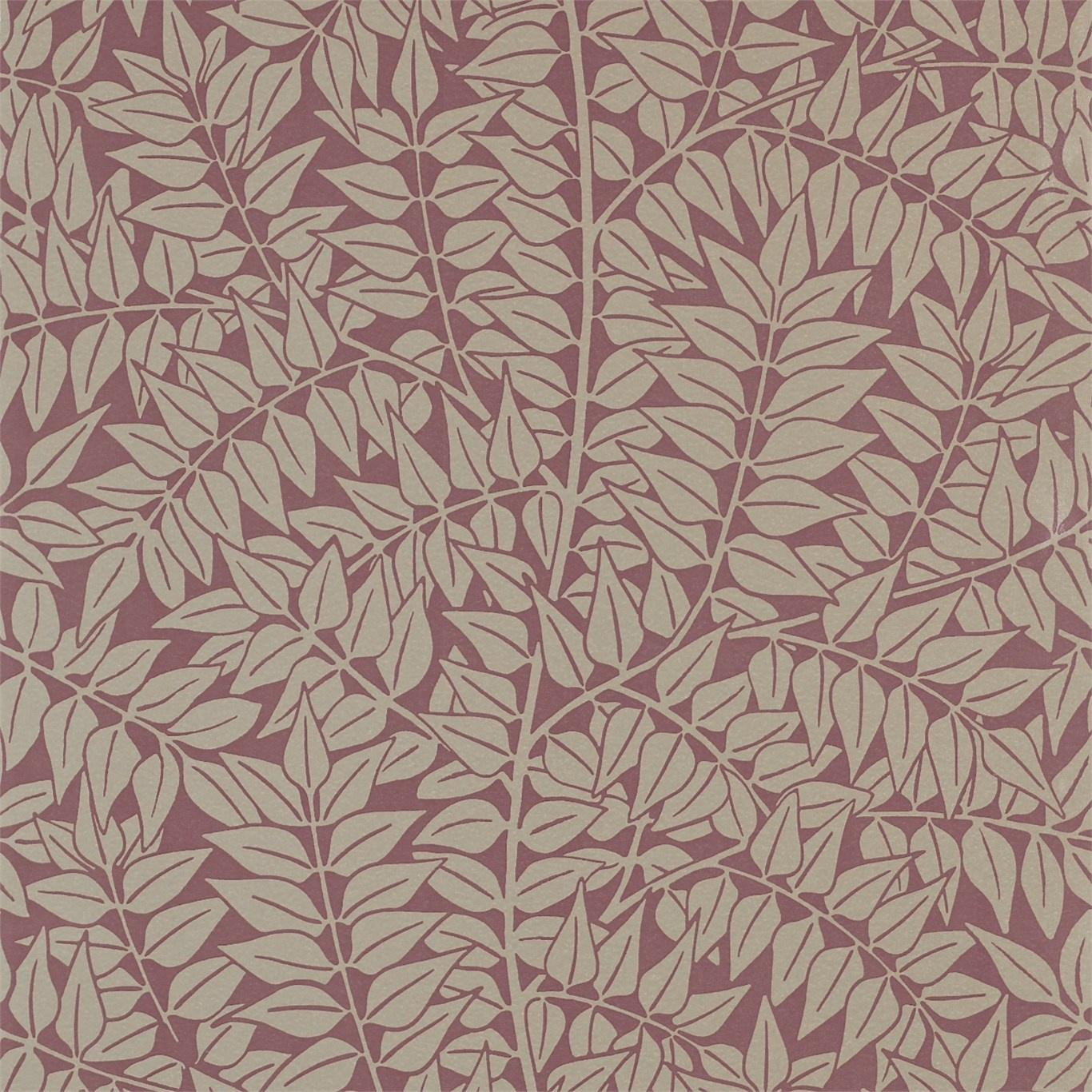 Image of Morris & Co Branch Heather Wallpaper 210373