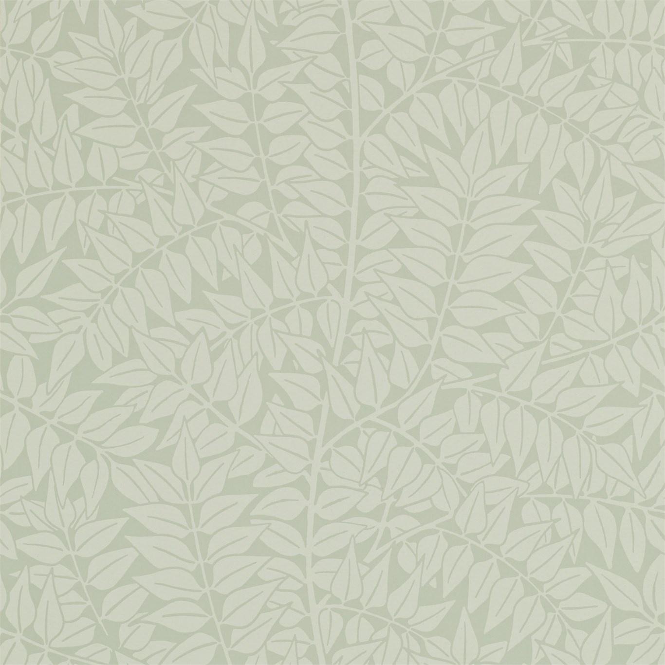 Image of Morris & Co Branch Sage Wallpaper 210375