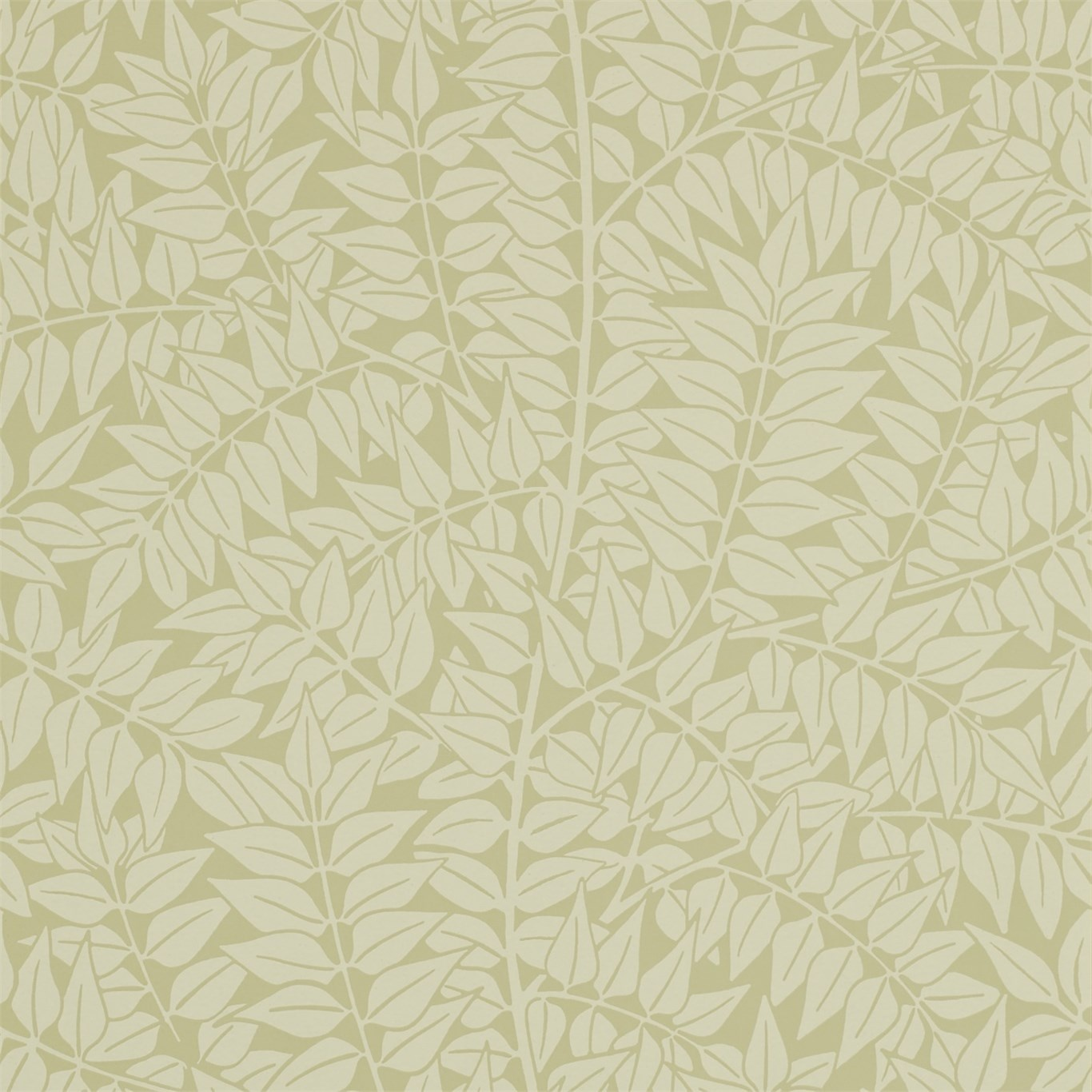 Image of Morris & Co Branch Catkin Wallpaper 210376