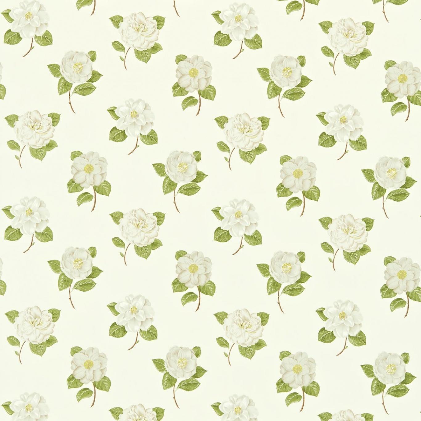 Image of Sanderson Lamorna Cream/Ivory Curtain Fabric 221952