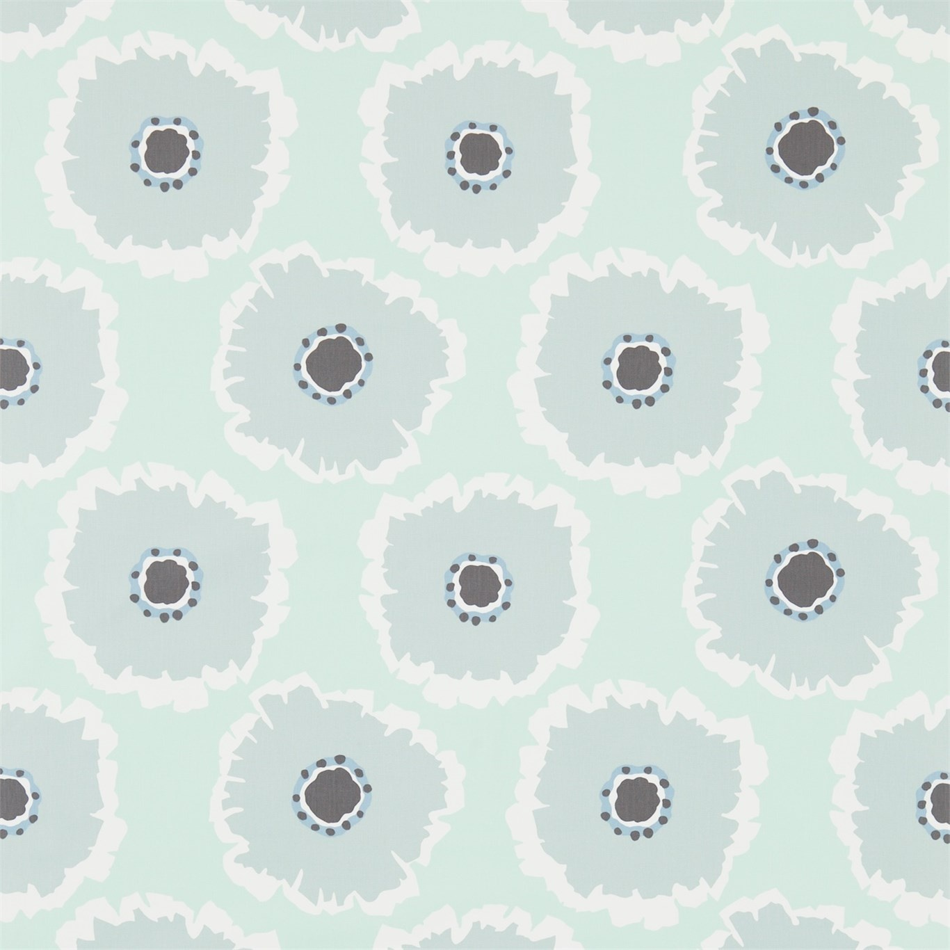 Image of Sanderson Papavera Mineral/Dove Fabric 224617
