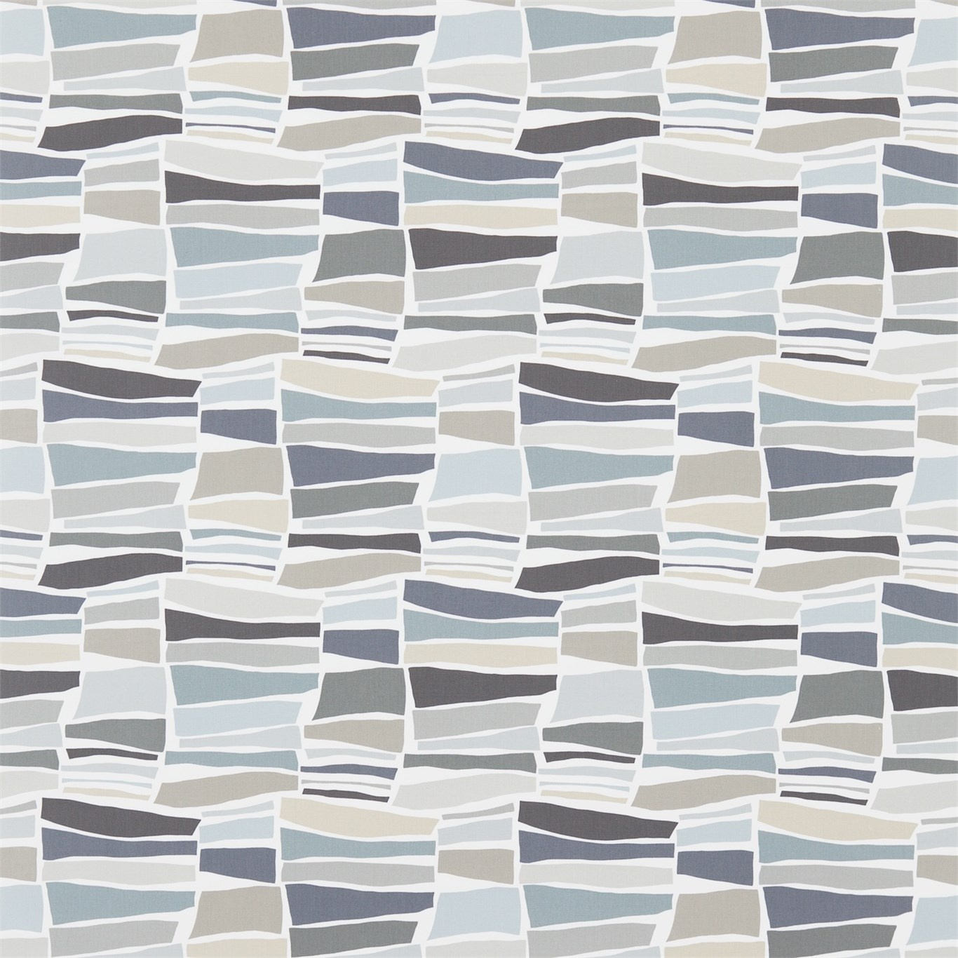 Image of Sanderson Milla Charcoal/Neutral Fabric 224626