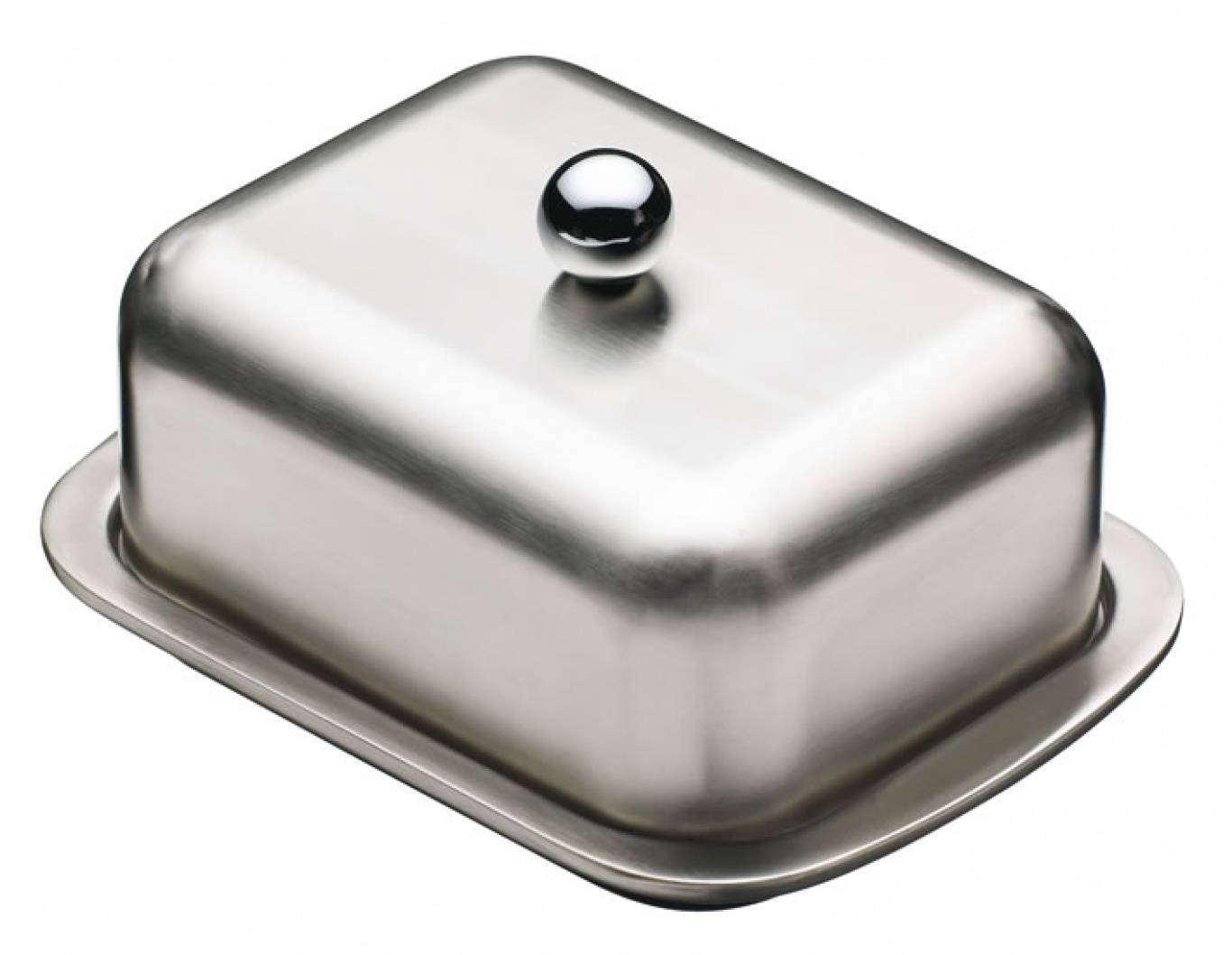 Deep Double Walled Butter Dish and Cover