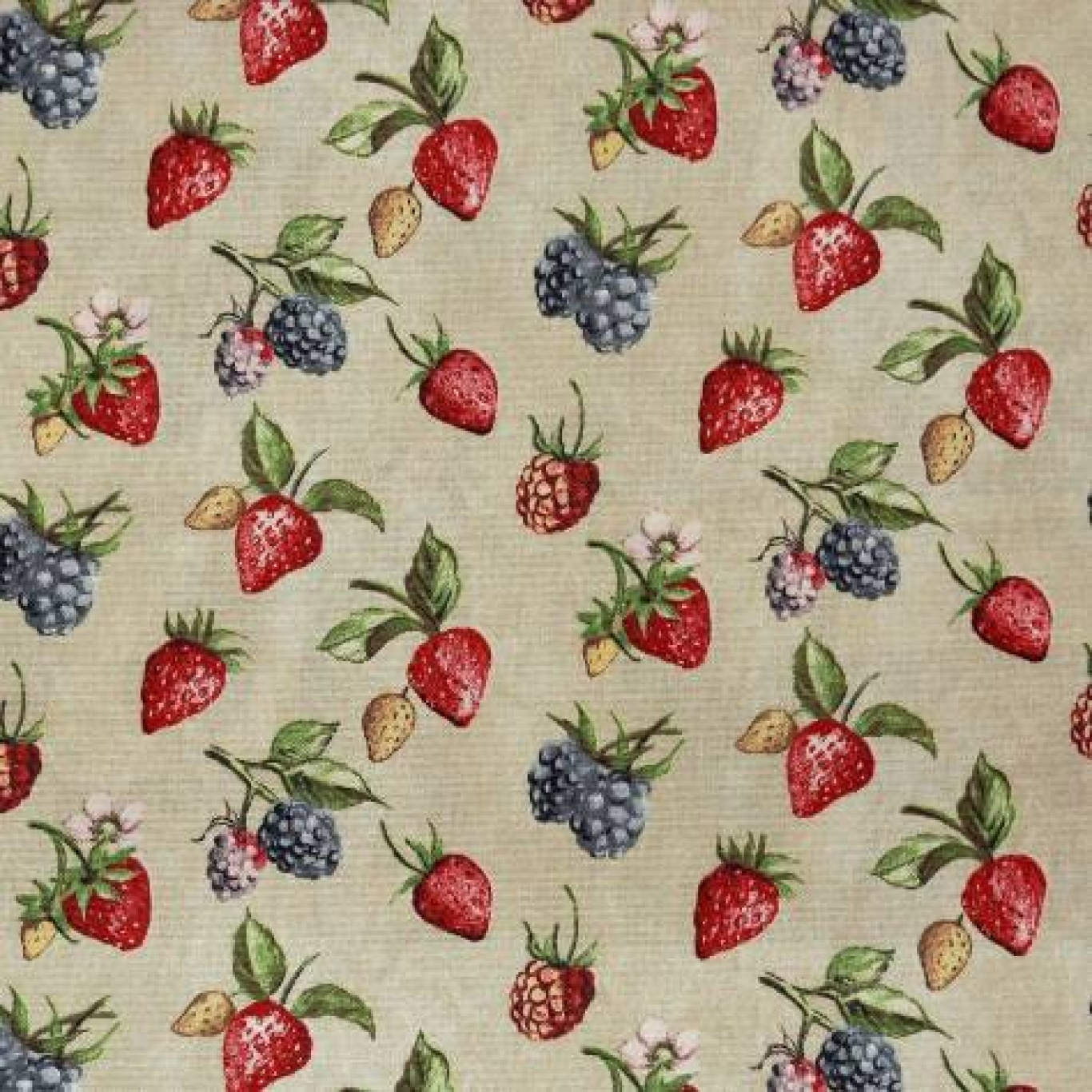 Image of Prestigious Bramble Chintz Curtain Fabric