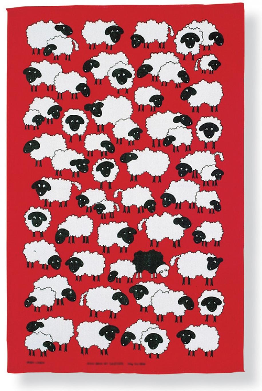 Image of Ulster Weavers Baa-Baa Linen Tea Towel