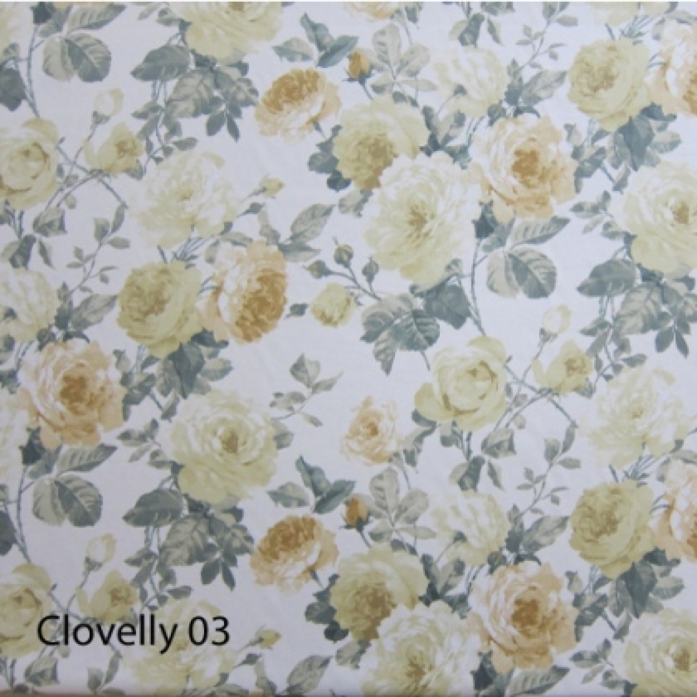 Image of Crowson Cloverlly Colour 3 Curtain Fabric