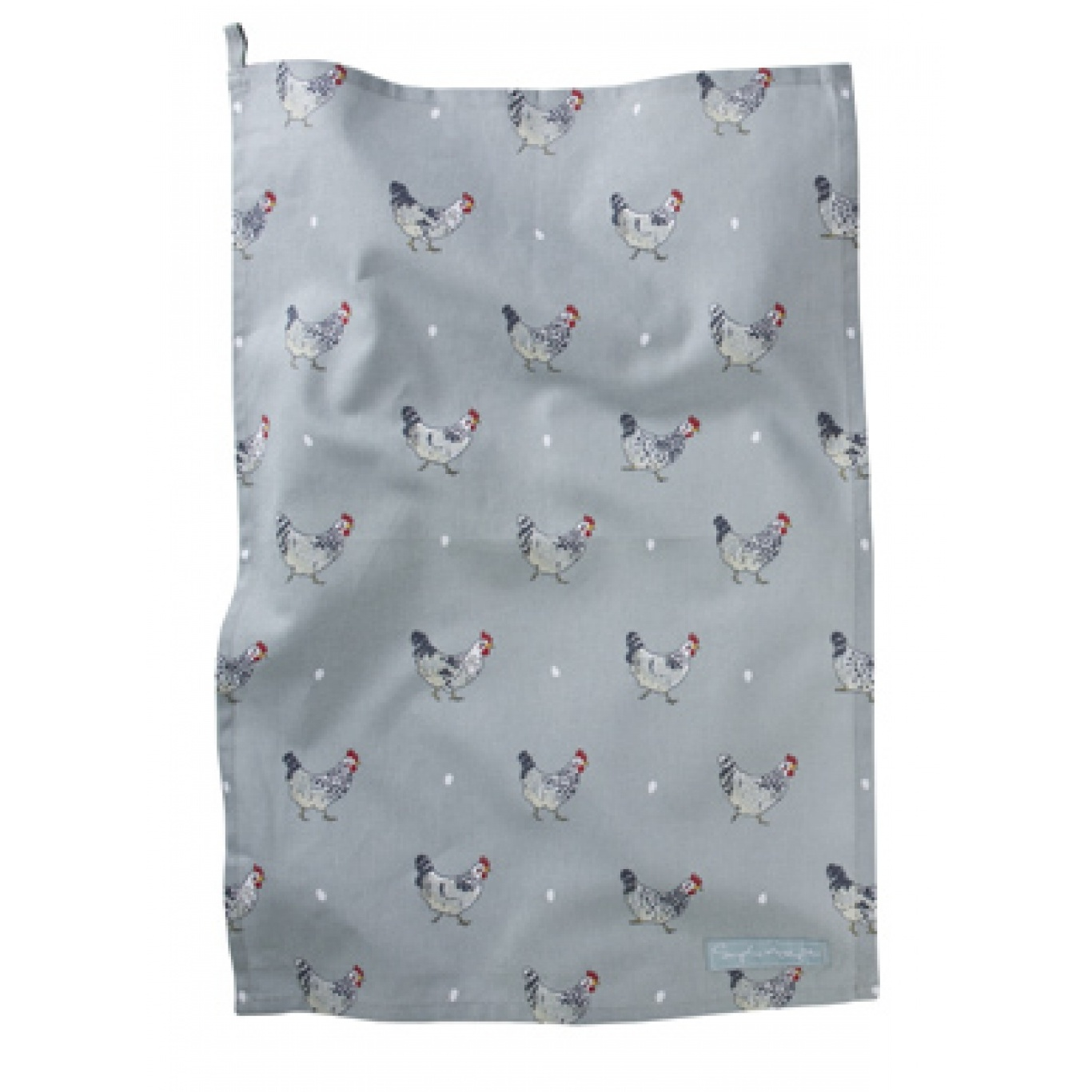 Image of Sophie Allport Chickens Tea Towel