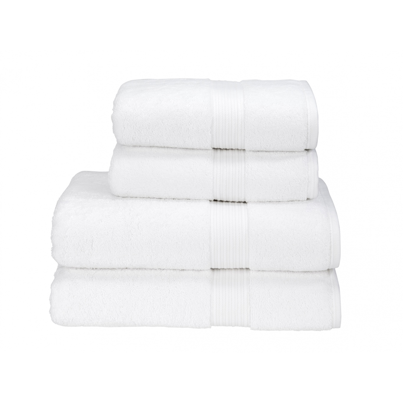 Image of Christy Supreme Supima Hygro White Towels