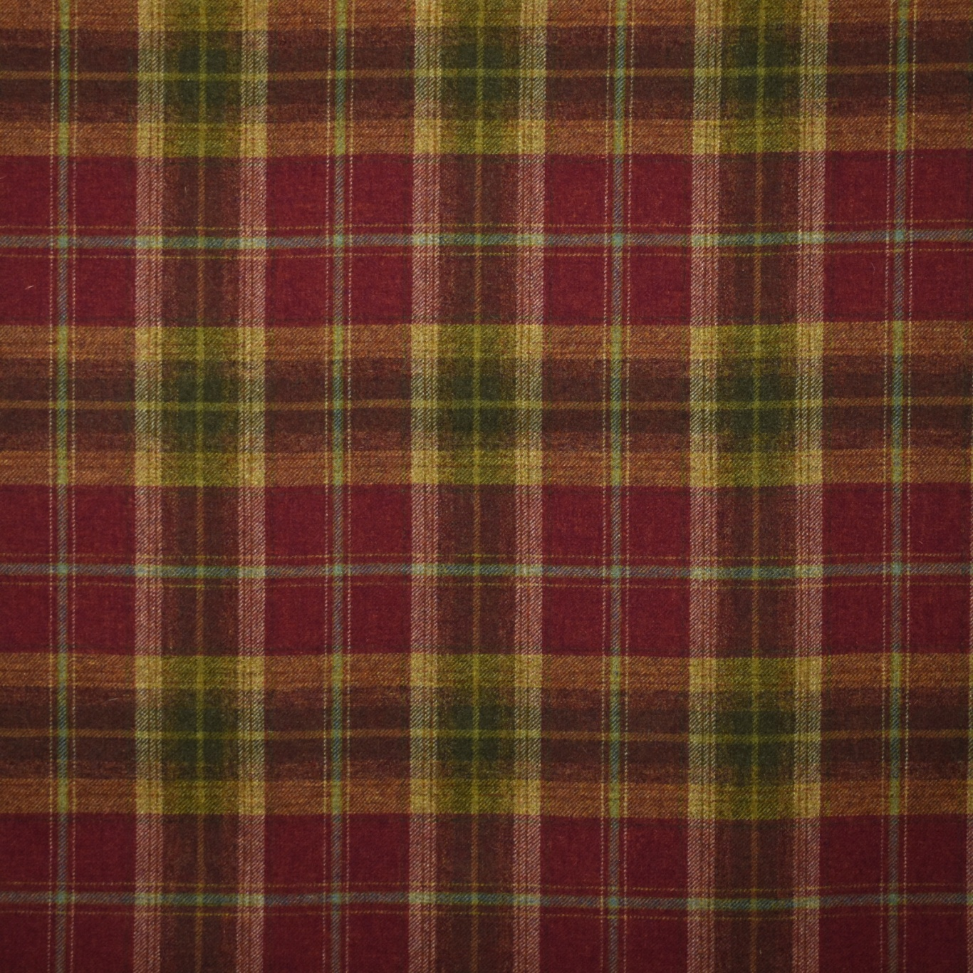 Image of Chess Designs Balmoral Claret Fabric