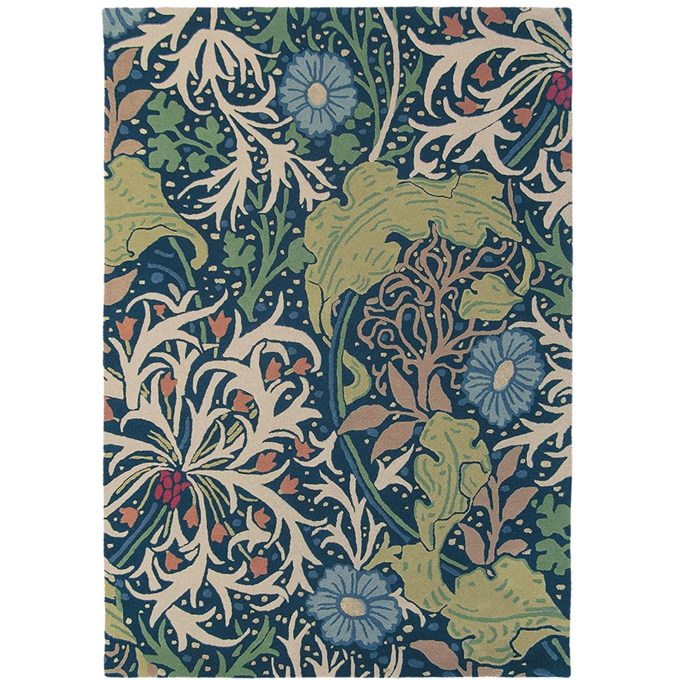 Image of Morris & Co Seaweed Ink Rug 28008