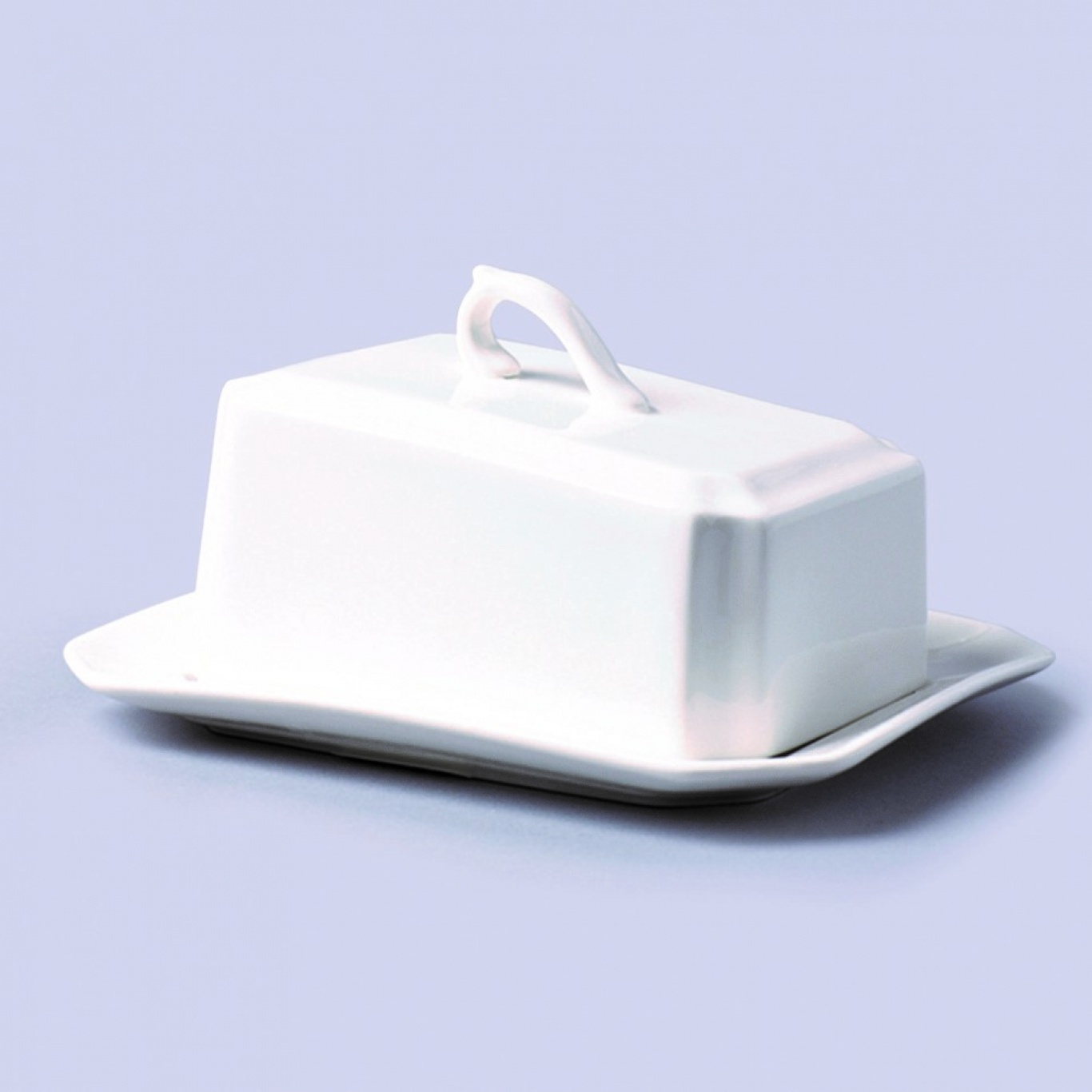 Image of Butter Plate/Small Cheese Dish & Lid