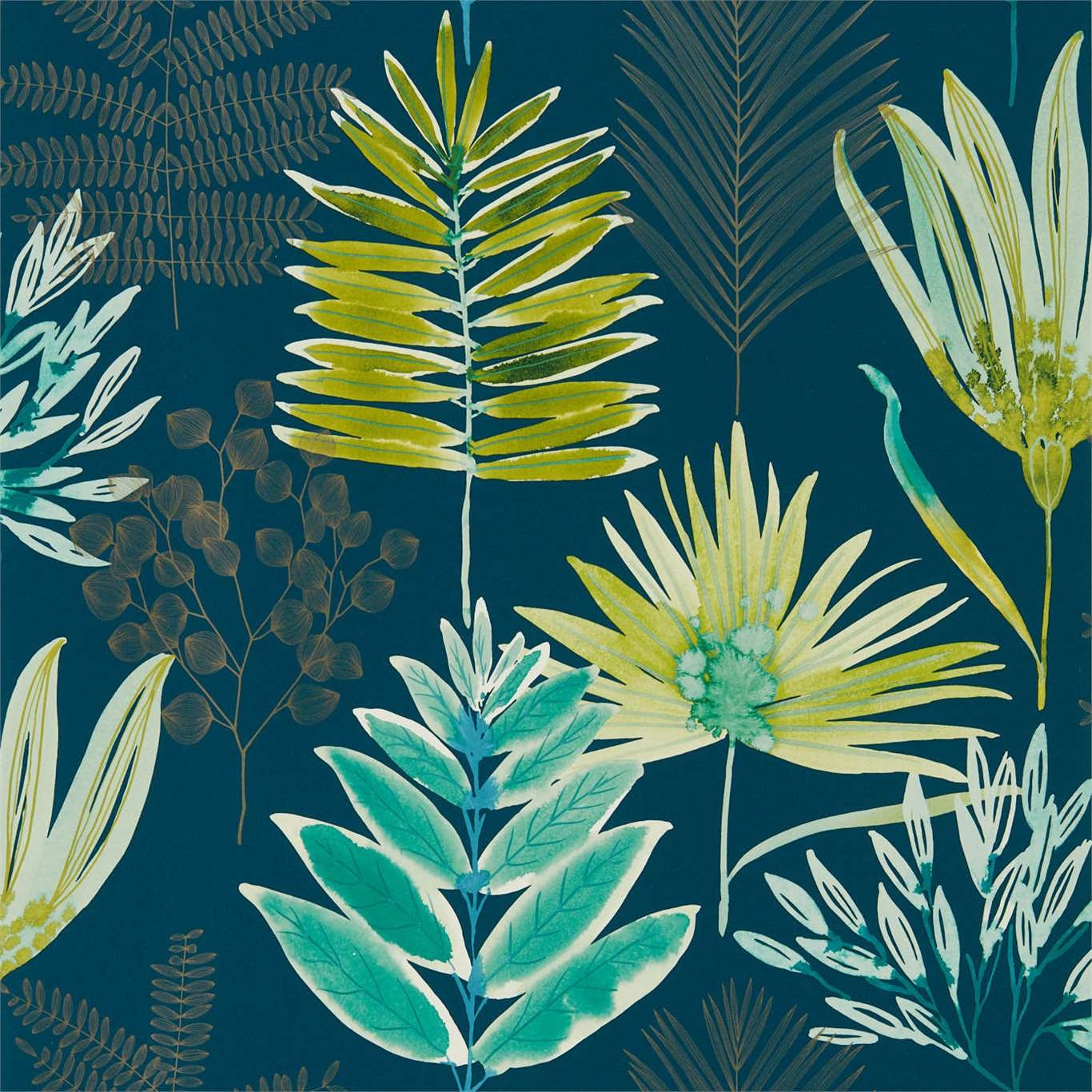 Image of Harlequin Yasuni Emerald/Zest Wallpaper 111761