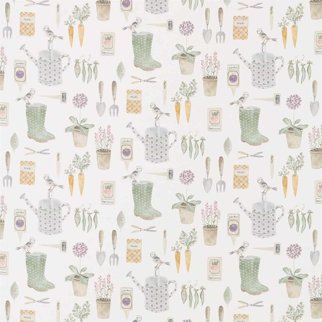Image of Sanderson Home The Gardener Fig Fabric 226346