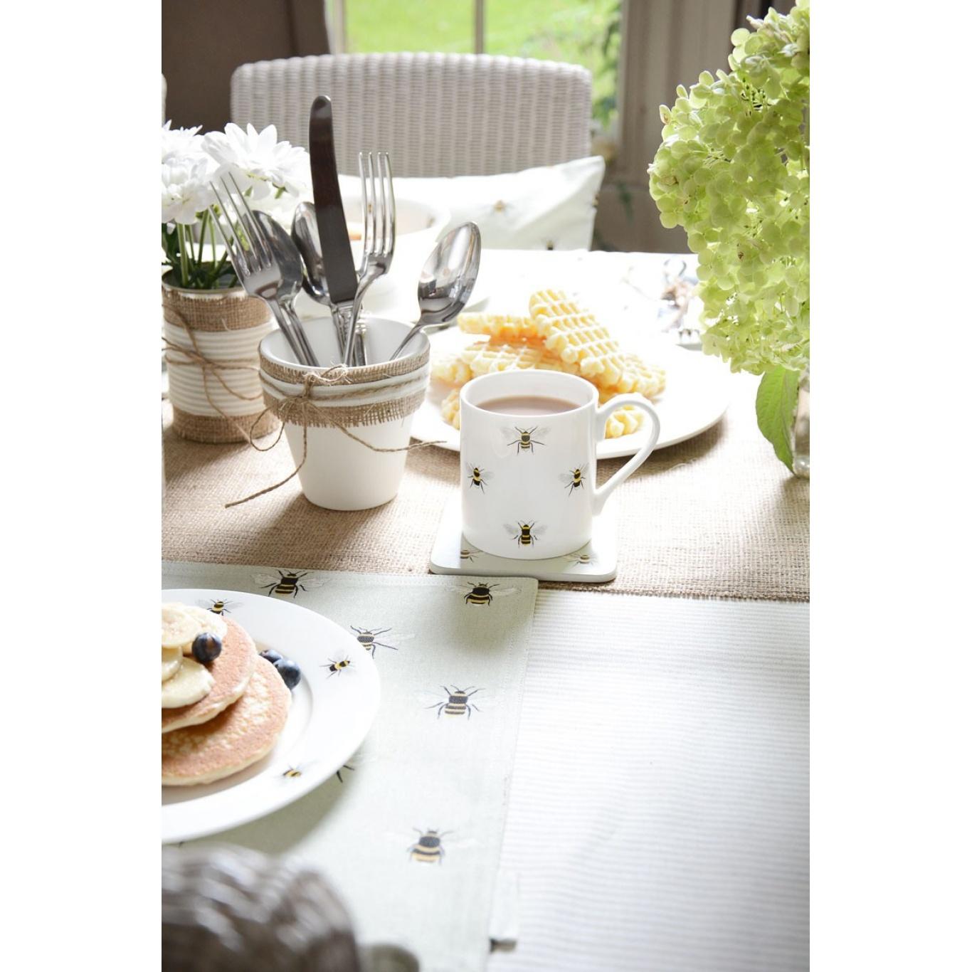 Sophie Allport Bees White Mug Standard