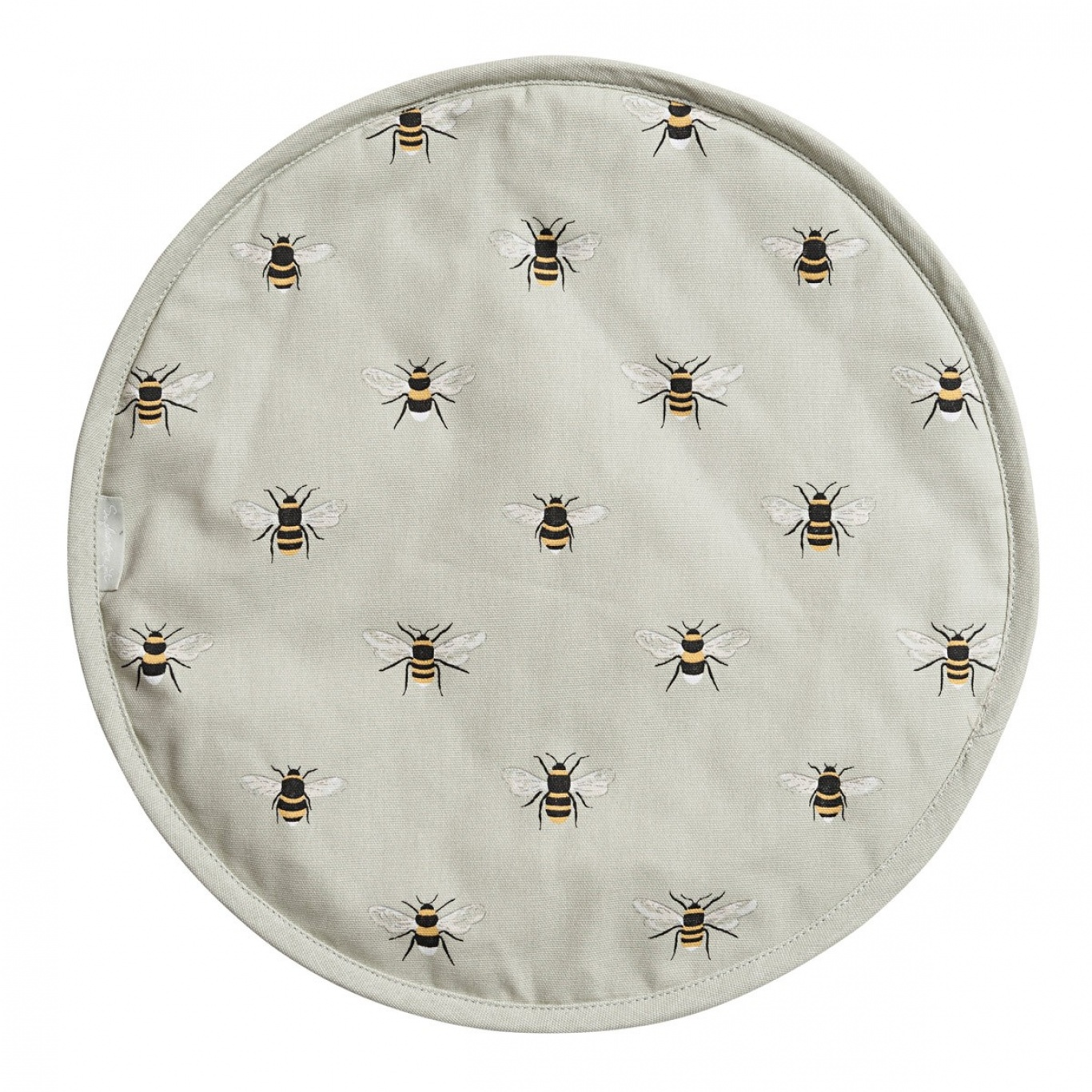 Image of Sophie Allport Bees Round Hob Cover