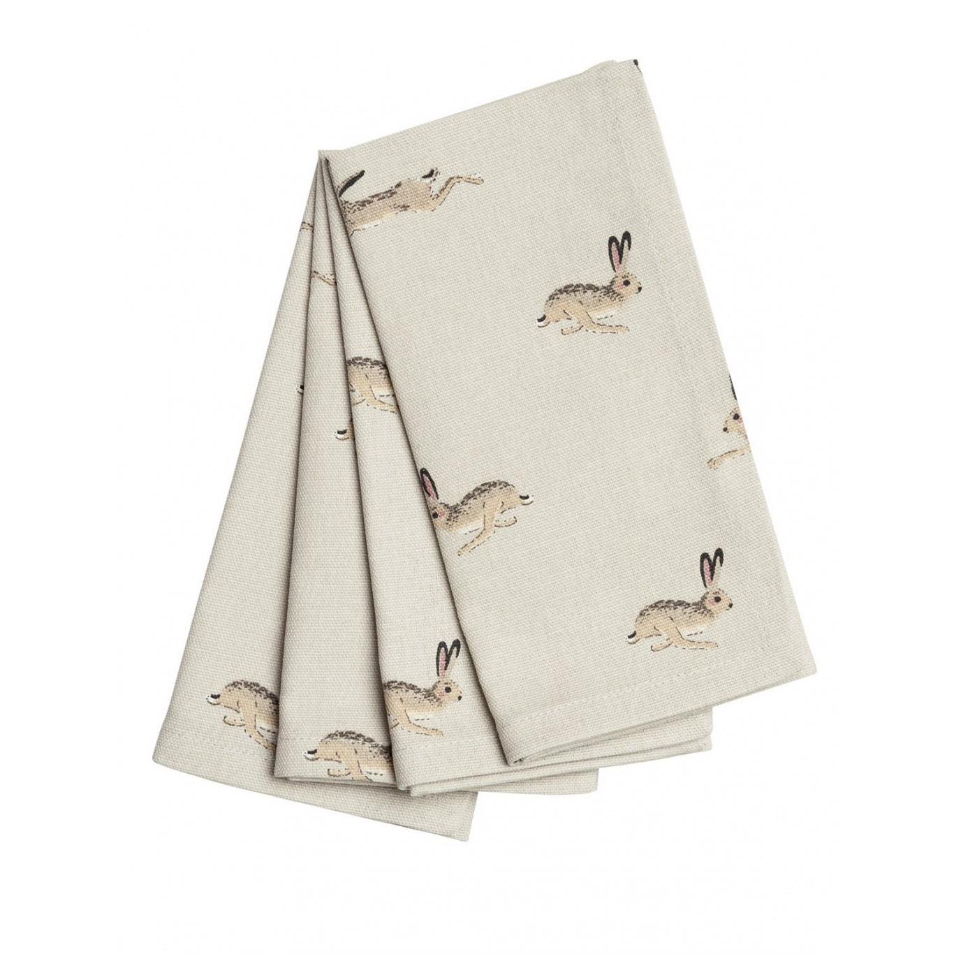 Image of Sophie Allport Hare Napkins Set of 4