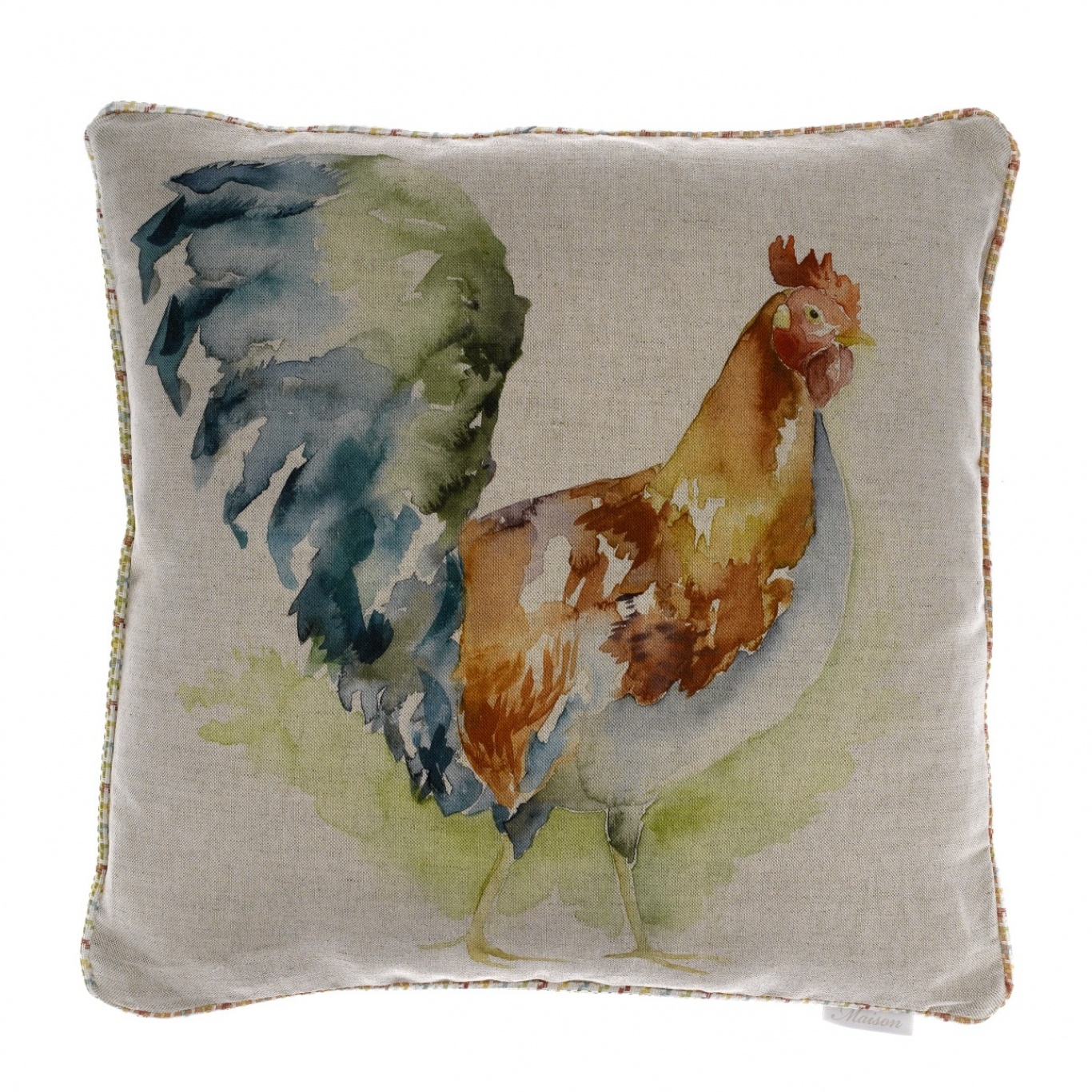Image of Voyage Cock A Doodle Cushion