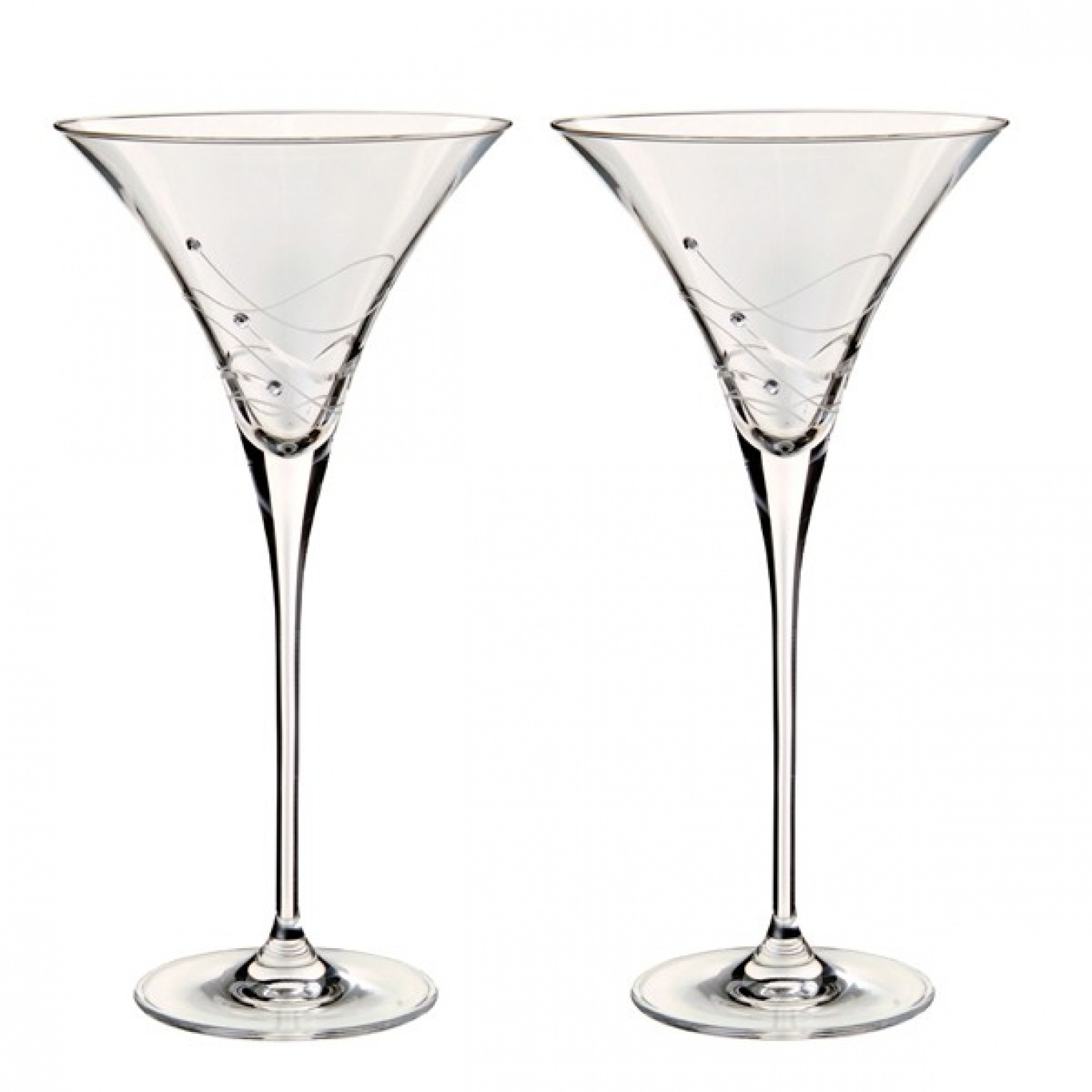 Image of Dartington Glitz Martini Pair