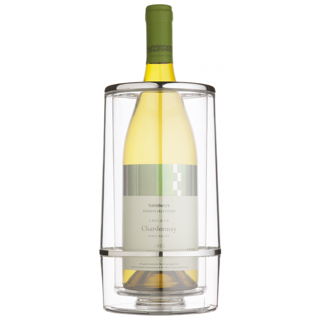 Image of Bar Craft Acrylic Double Walled Wine Cooler