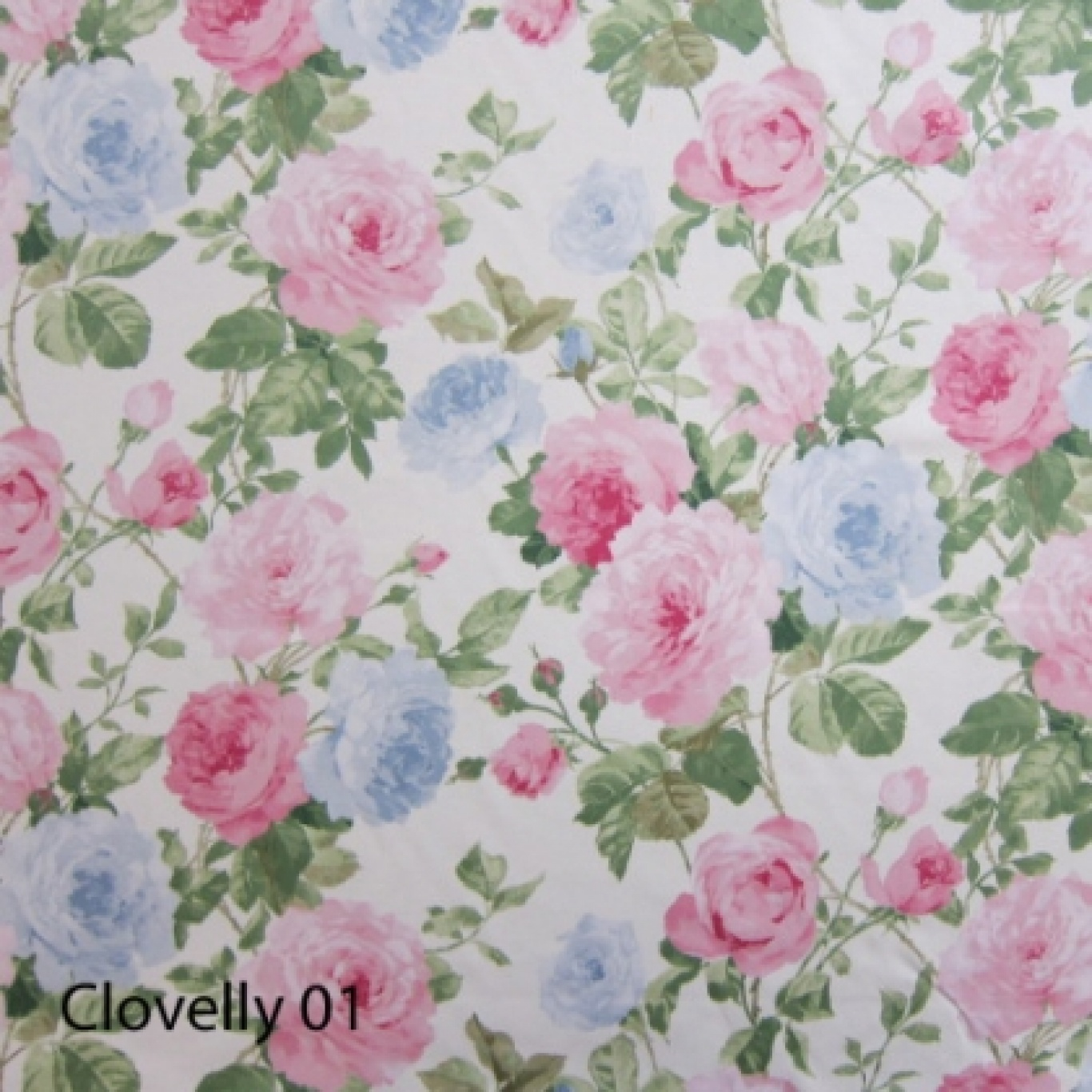 Image of Crowson Cloverlly Colour 1 Curtain Fabric