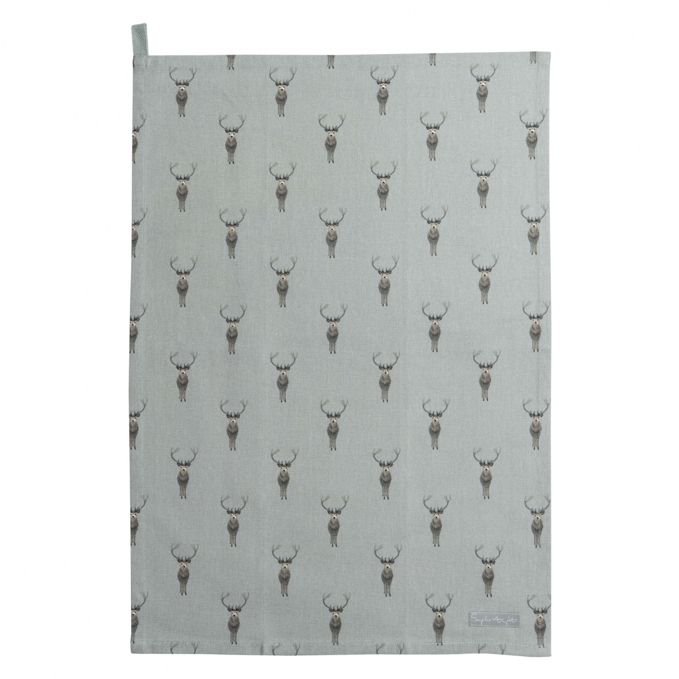 Image of Sophie Allport Highland Stag Tea Towel