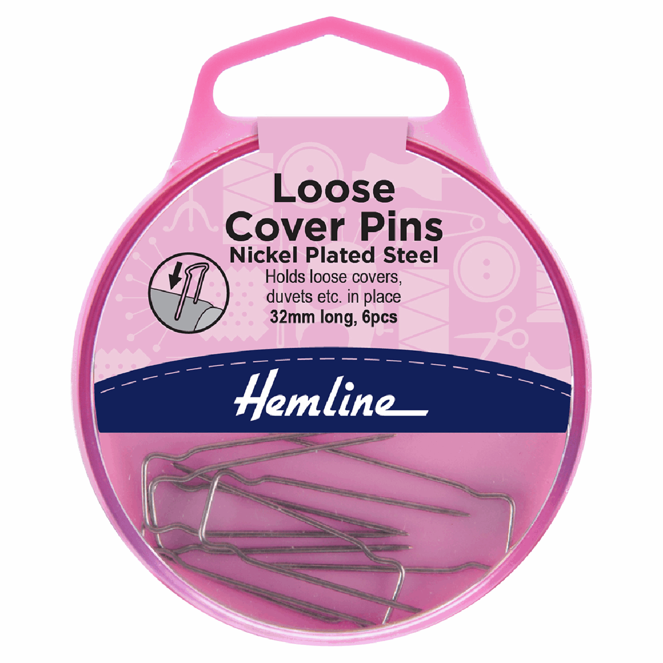 Image of Loose Cover Pins | 32mm | 6 Pieces