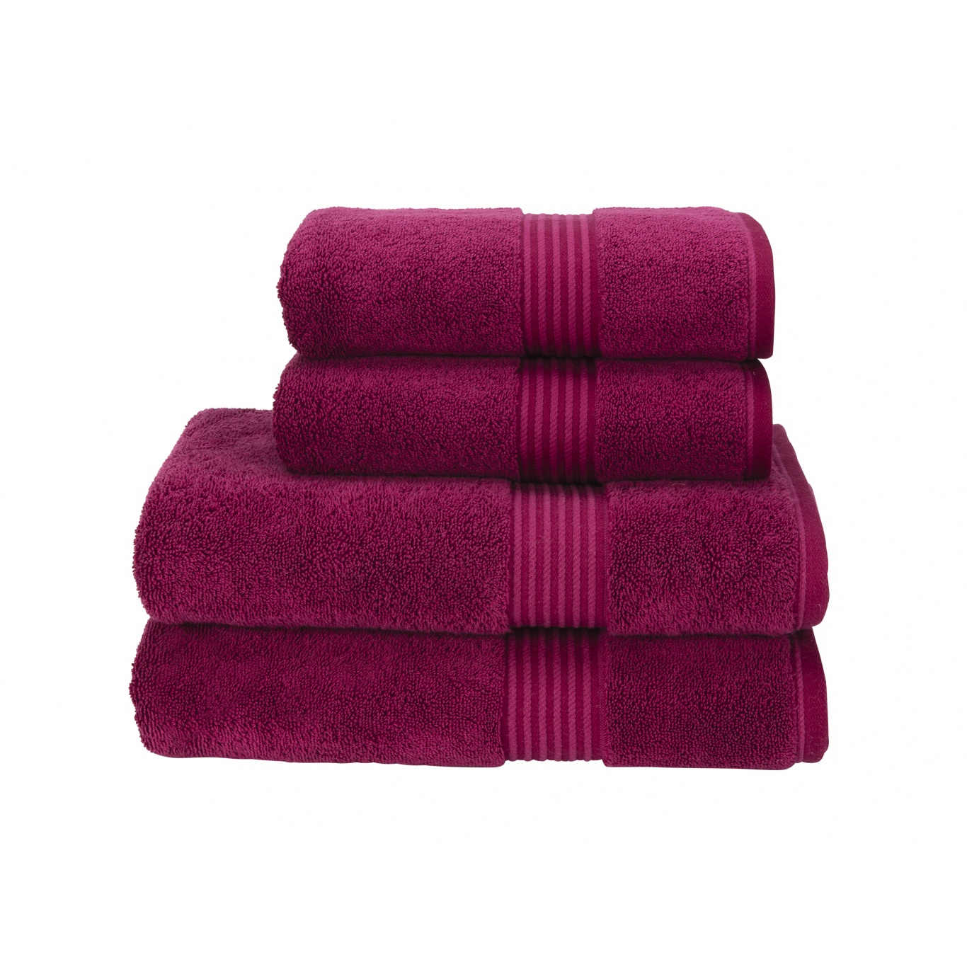 Image of Christy Supreme Supima Hygro Raspberry Towels