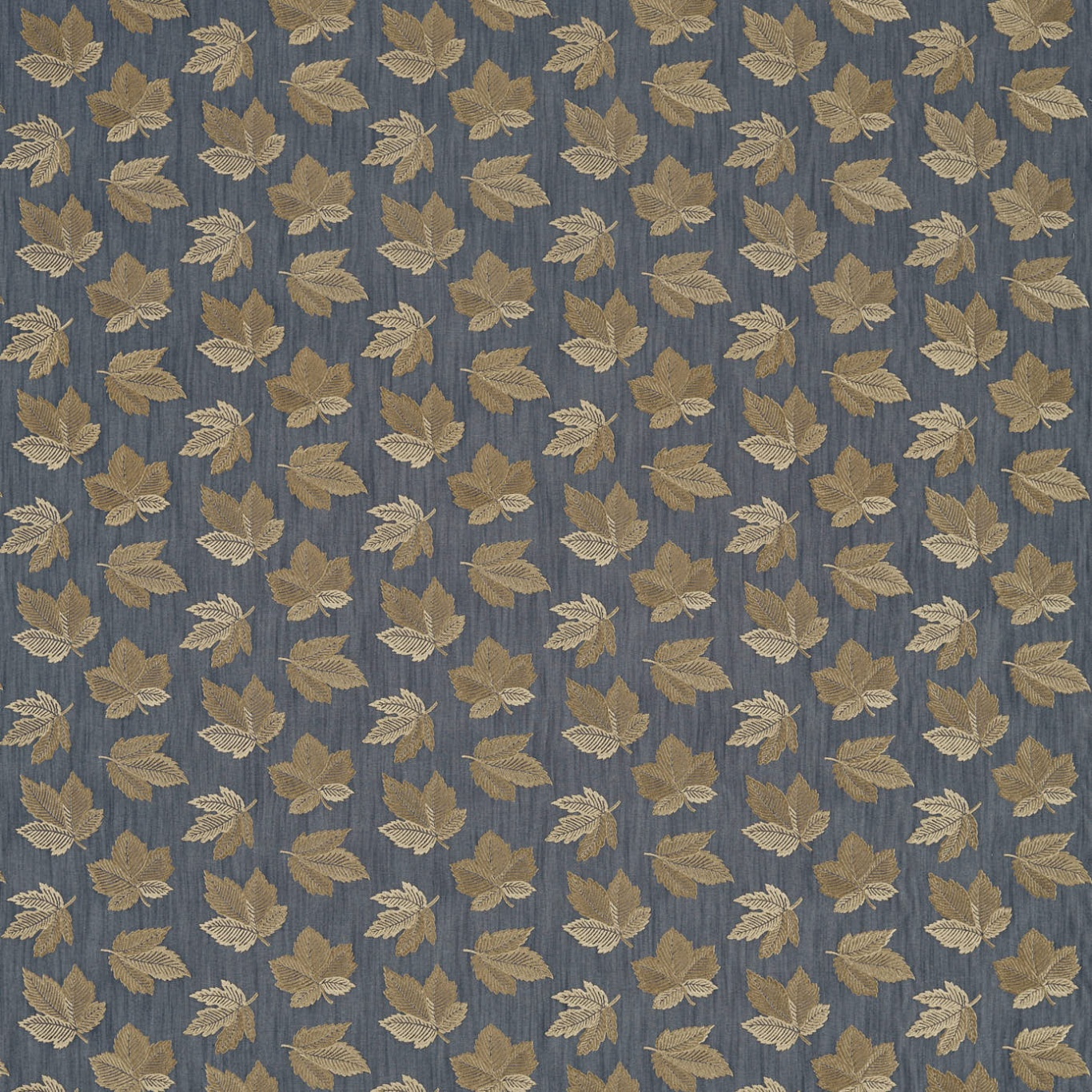 Image of Sanderson Flannery Fig/Copper Curtain Fabric 236726