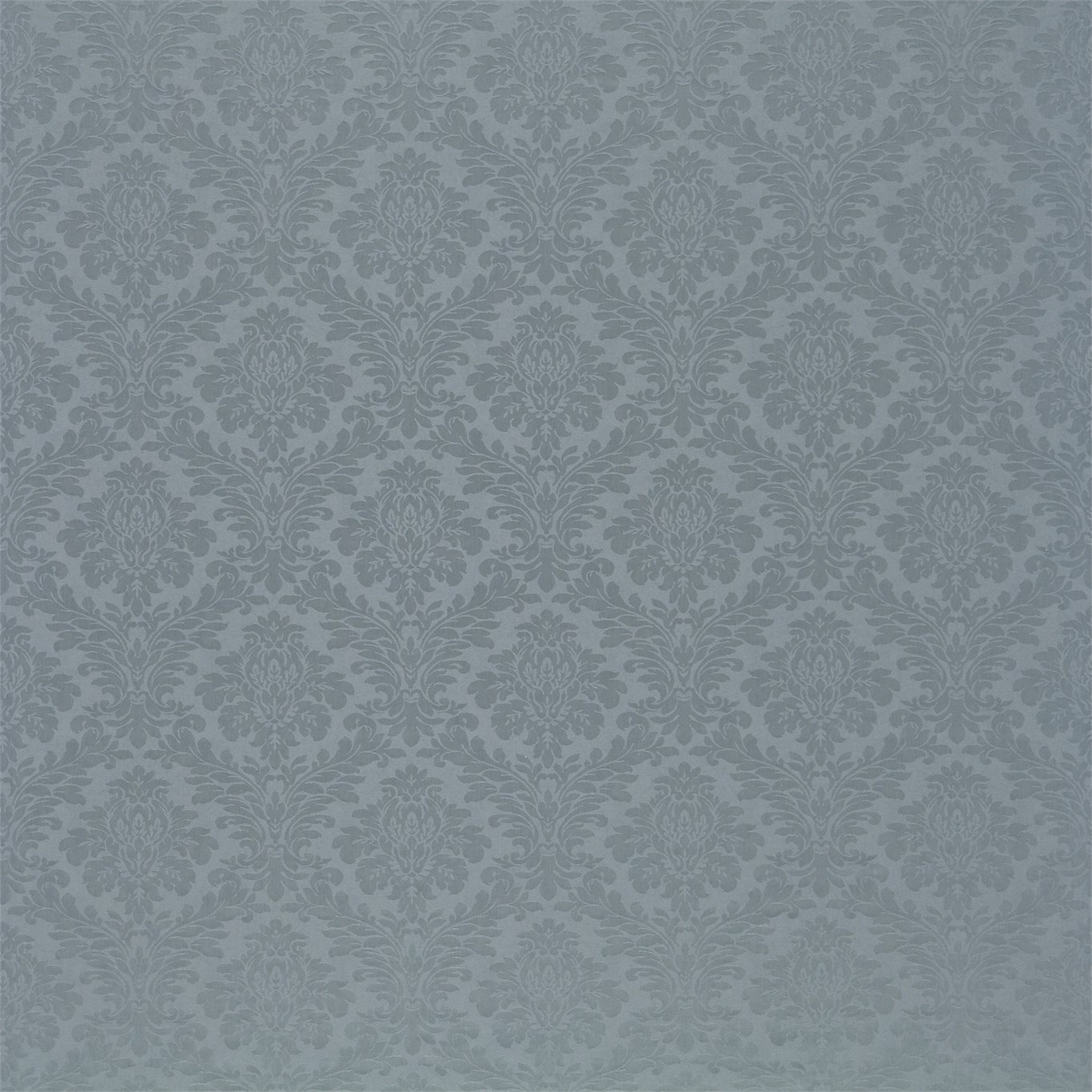 Image of Sanderson Lymington Damask Wedgwood Fabric 232606