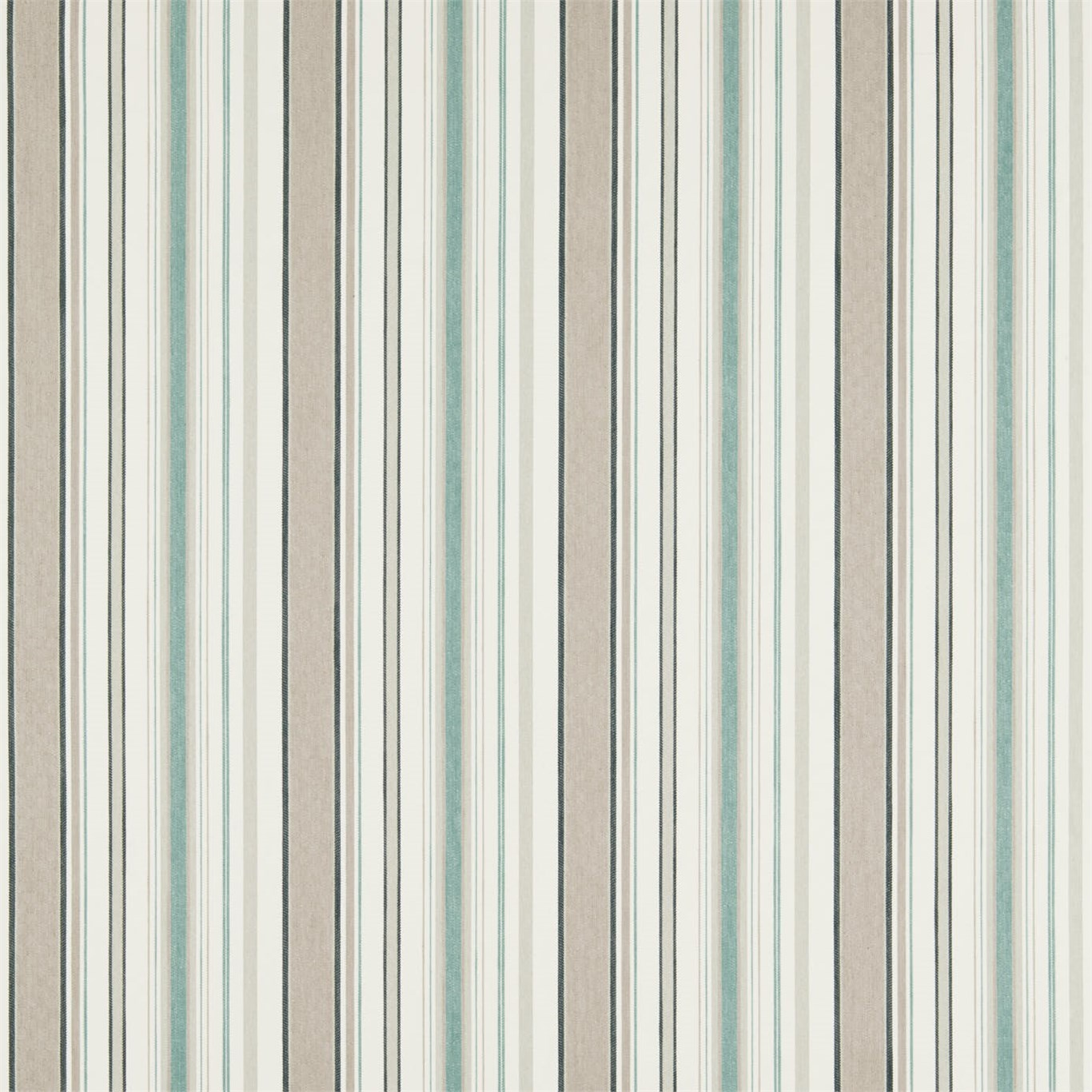Image of Sanderson Home Dobby Stripe Winter Rocket Curtain Fabric 235899