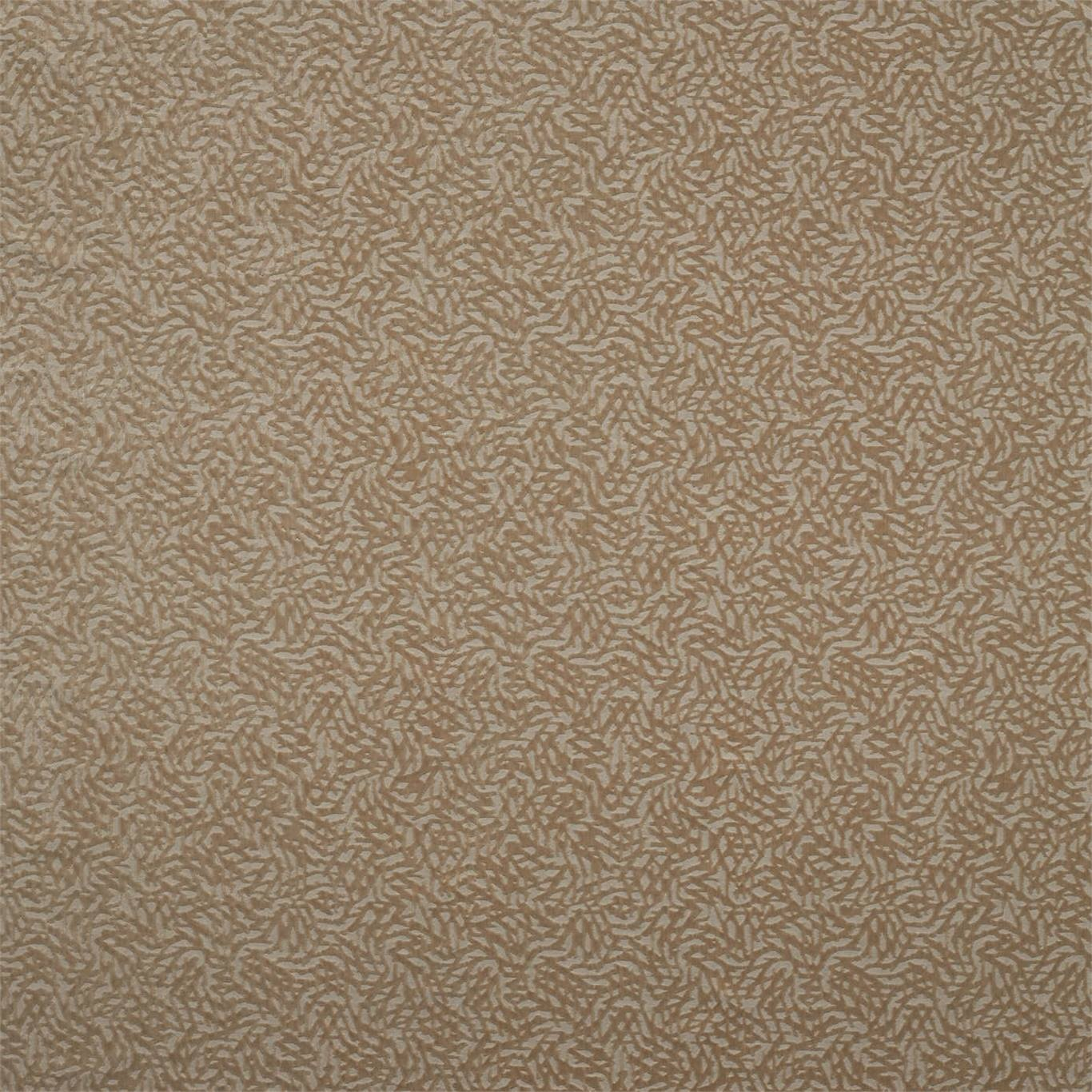 Image of Harlequin Dentella Brass Curtain Fabric 132680